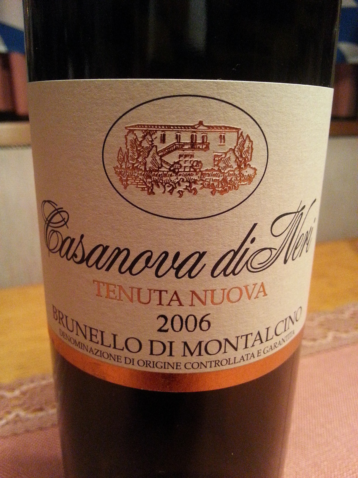 2006 Brunello di Montalcino Tenuta Nuova | Casanova di Neri