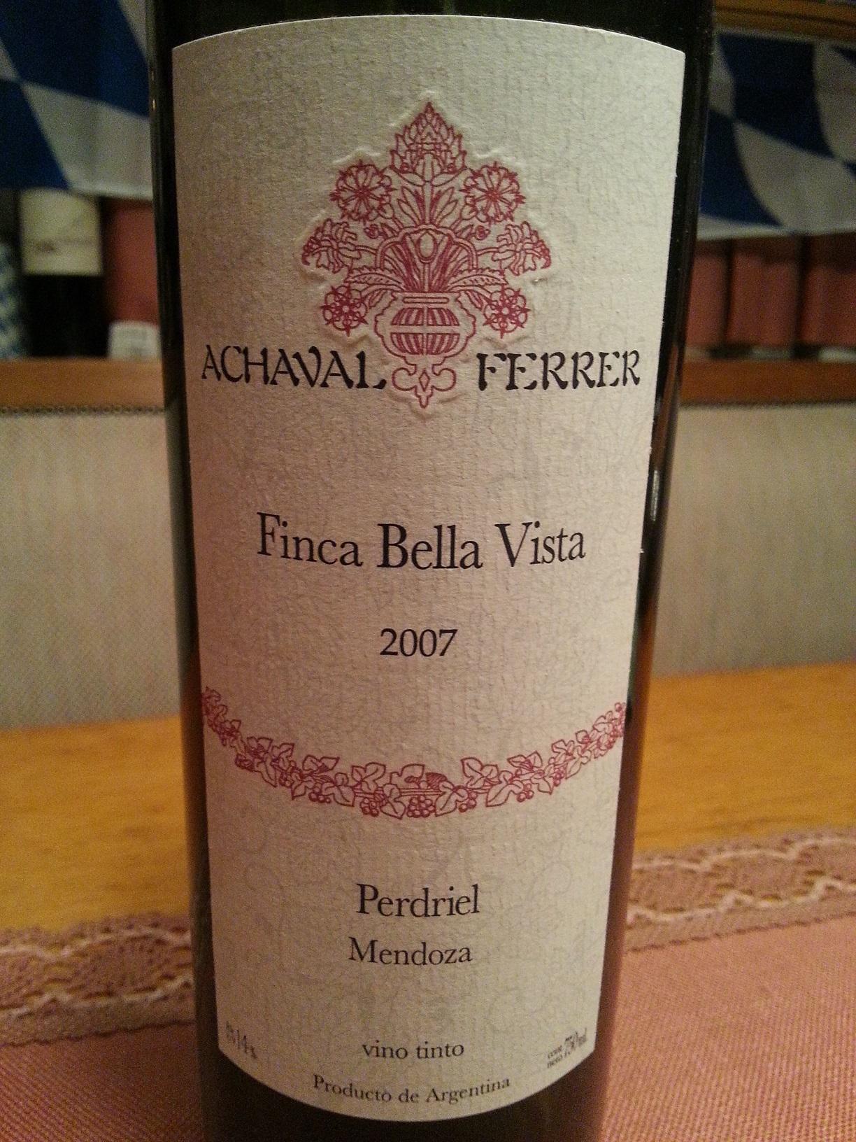 2007 Finca Bella Vista | Achaval Ferrer