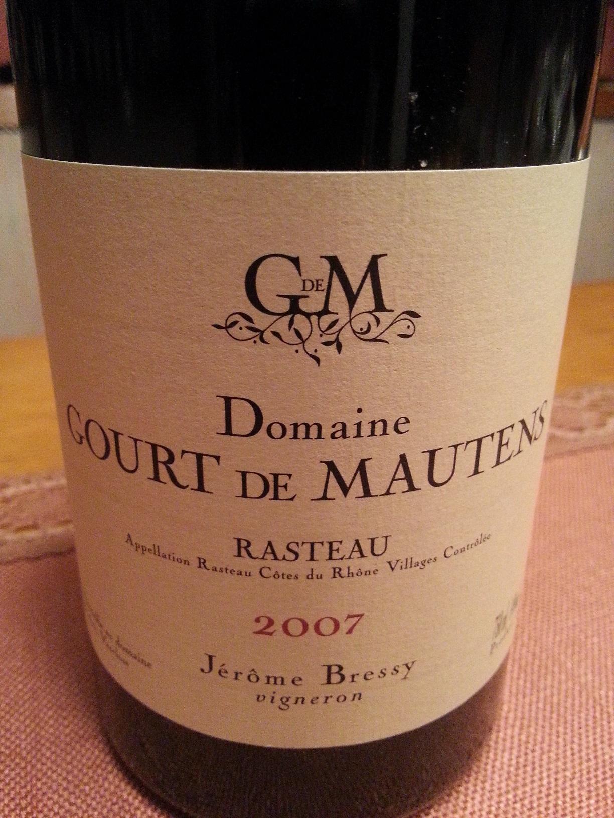 2007 Rasteau | Gourt de Mautens