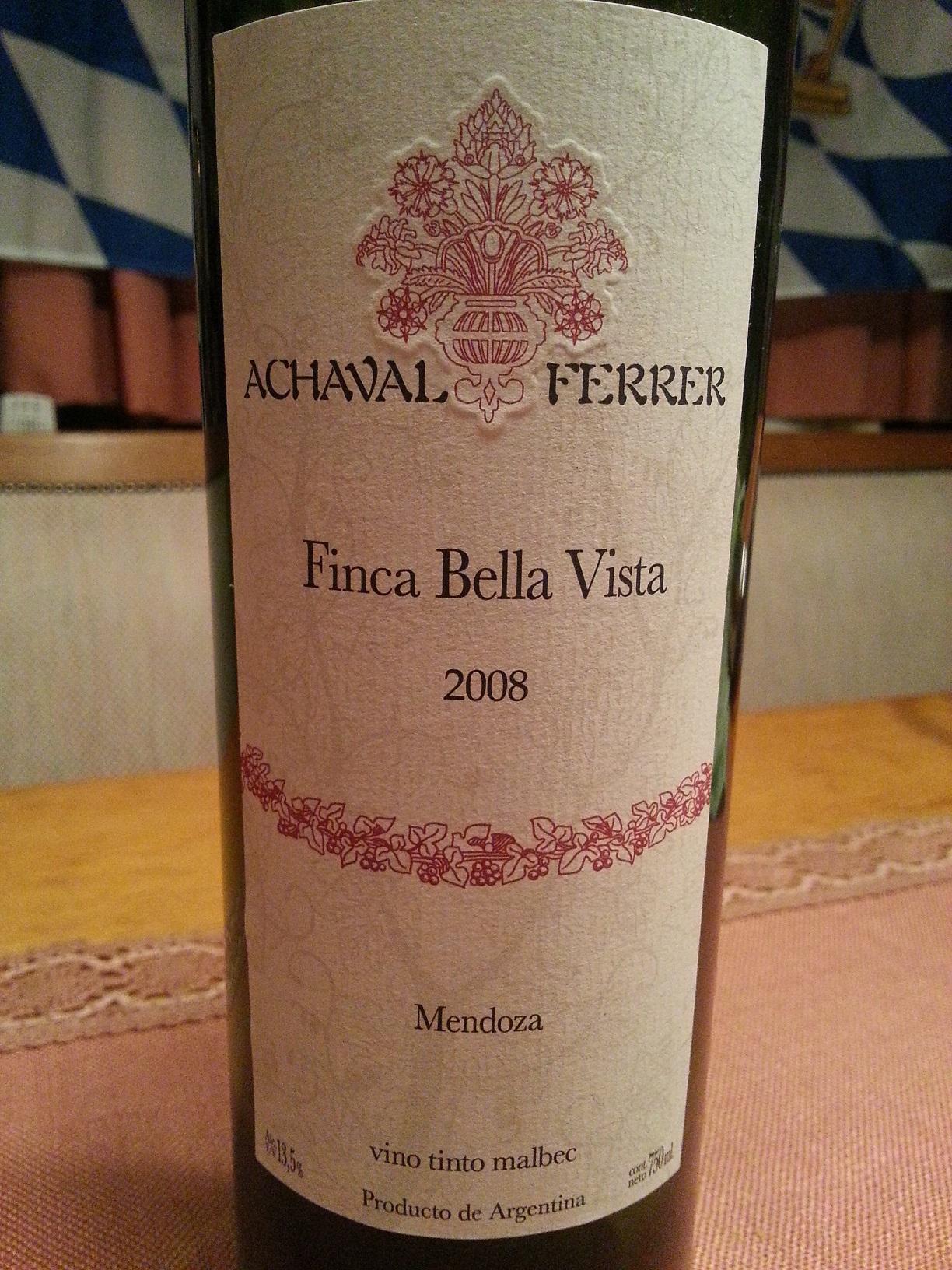 2008 Finca Bella Vista | Achaval Ferrer