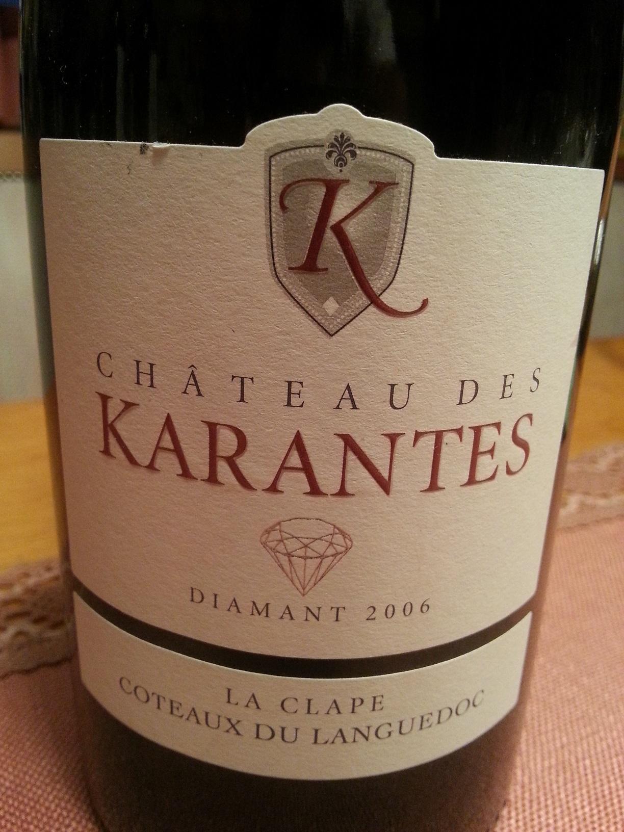 2006 Diamant | Château des Karantes