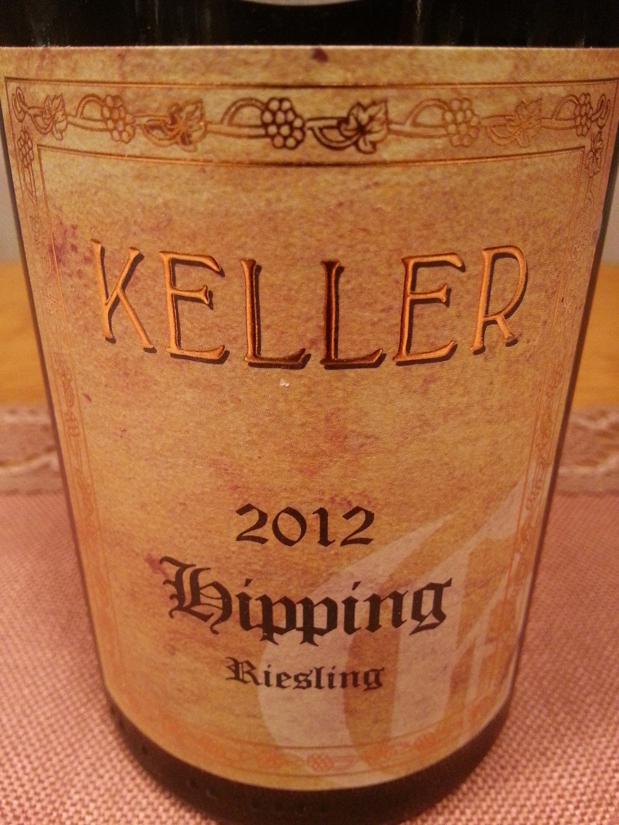 2012 Riesling Hipping GG | Keller