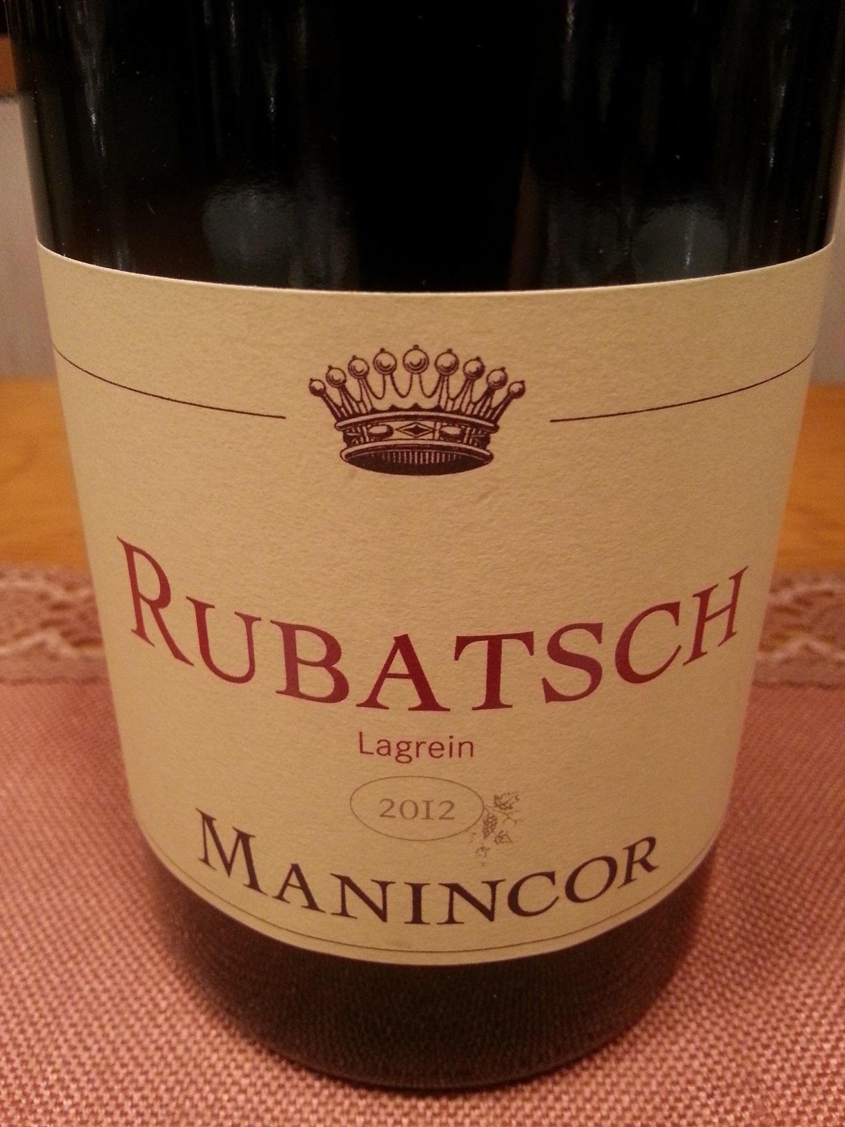 2012 Lagrein Rubatsch | Manincor