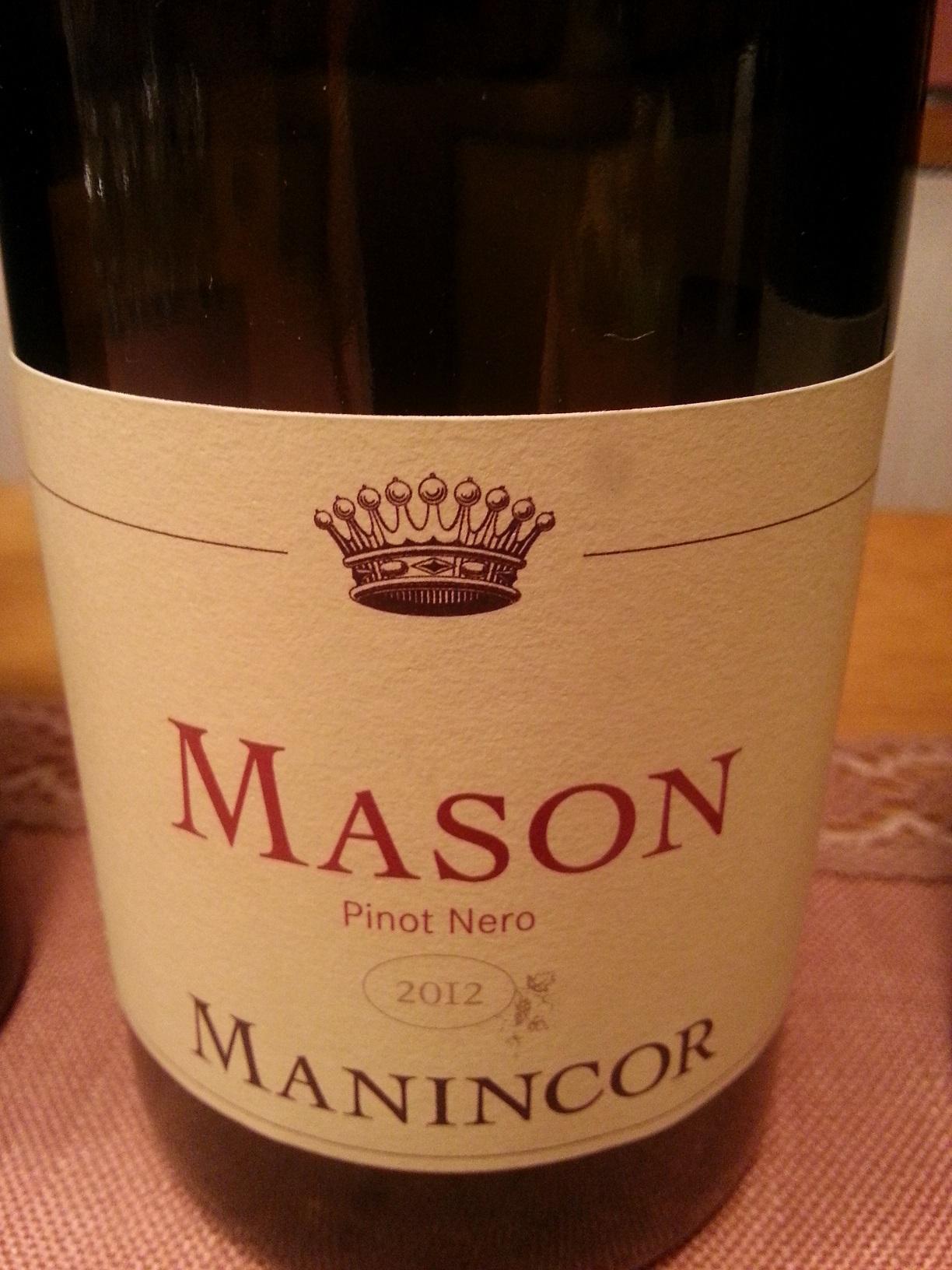 2012 Pinot Nero Mason | Manincor