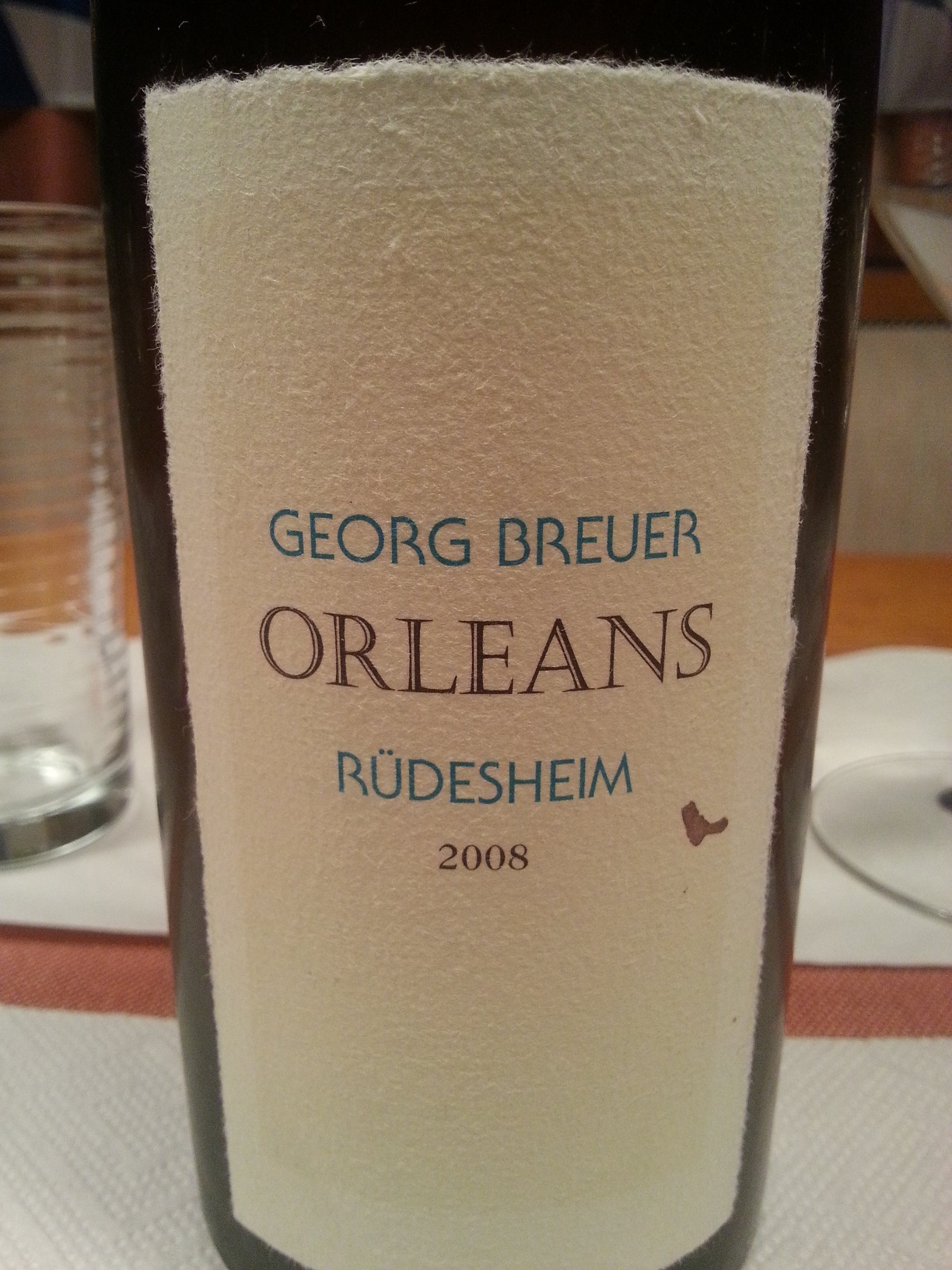 2008 Rüdesheimer Orleans | Breuer
