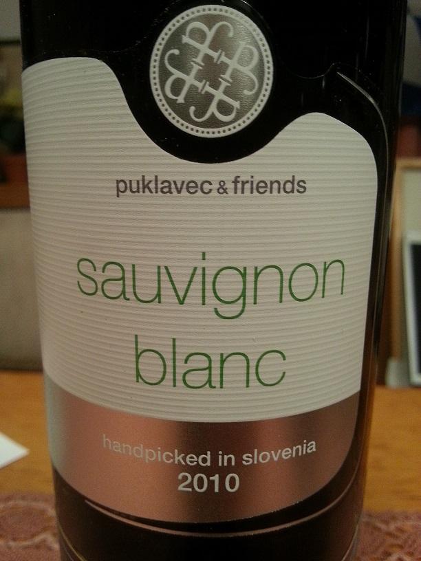 2010 Sauvignon Blanc | Puklavec & Friends