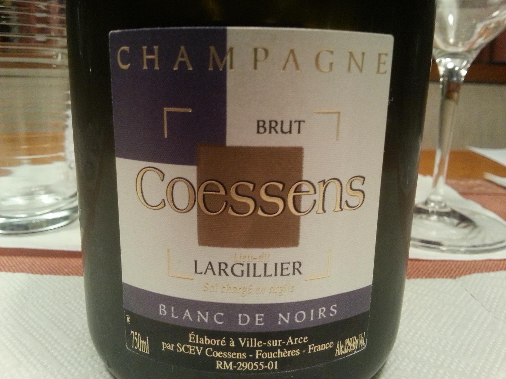 -nv- Champagne Largillier Blanc de Noirs | Coessens