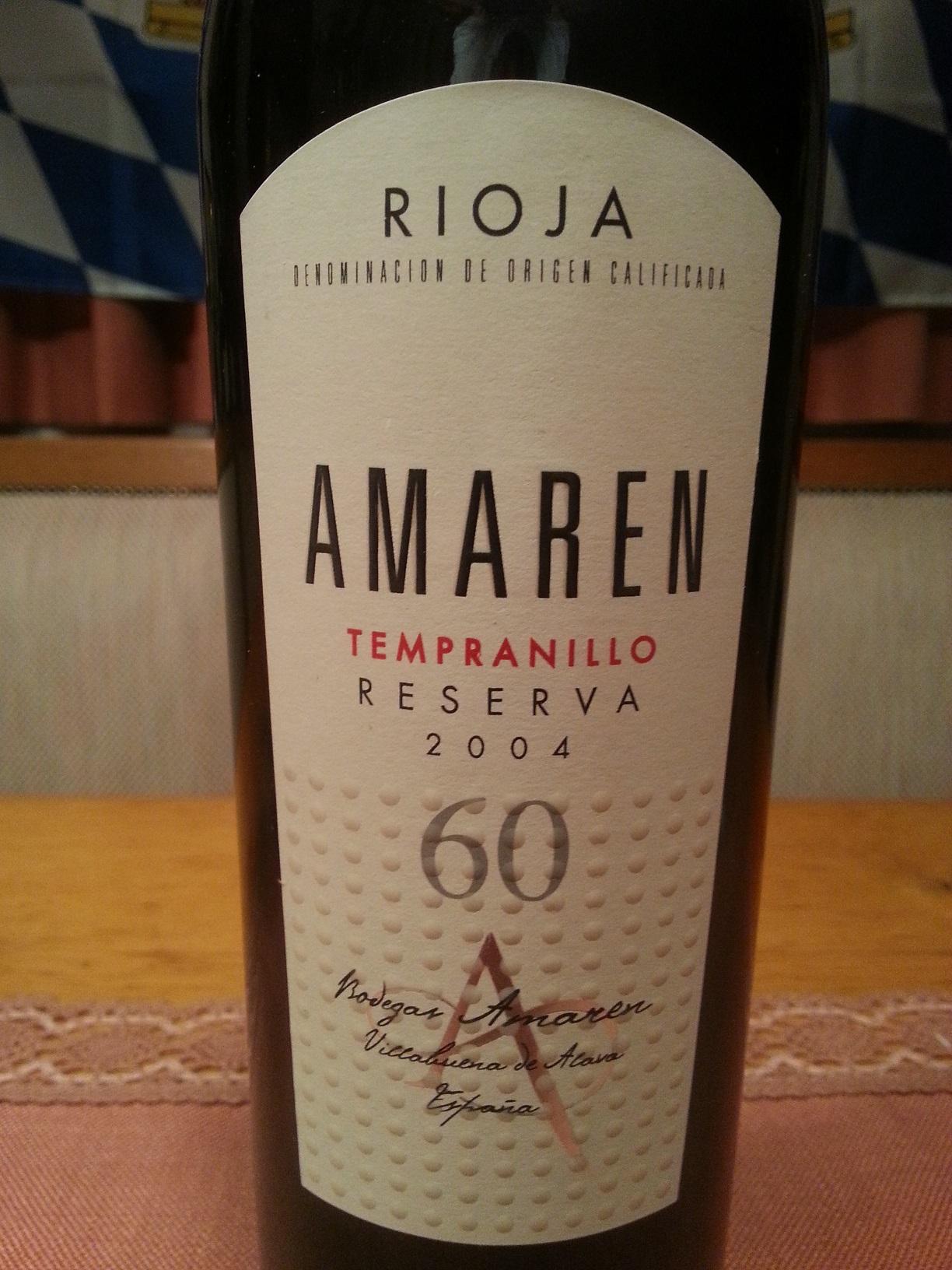 2004 Amaren Reserva | Amaren