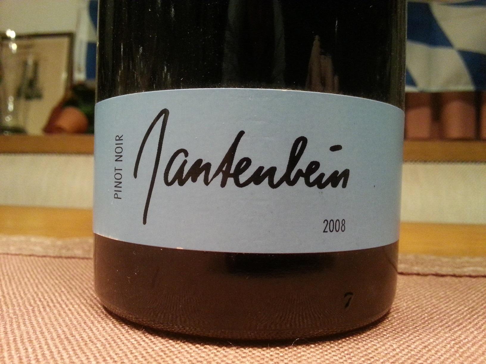 2008 Pinot Noir Fläsch | Gantenbein