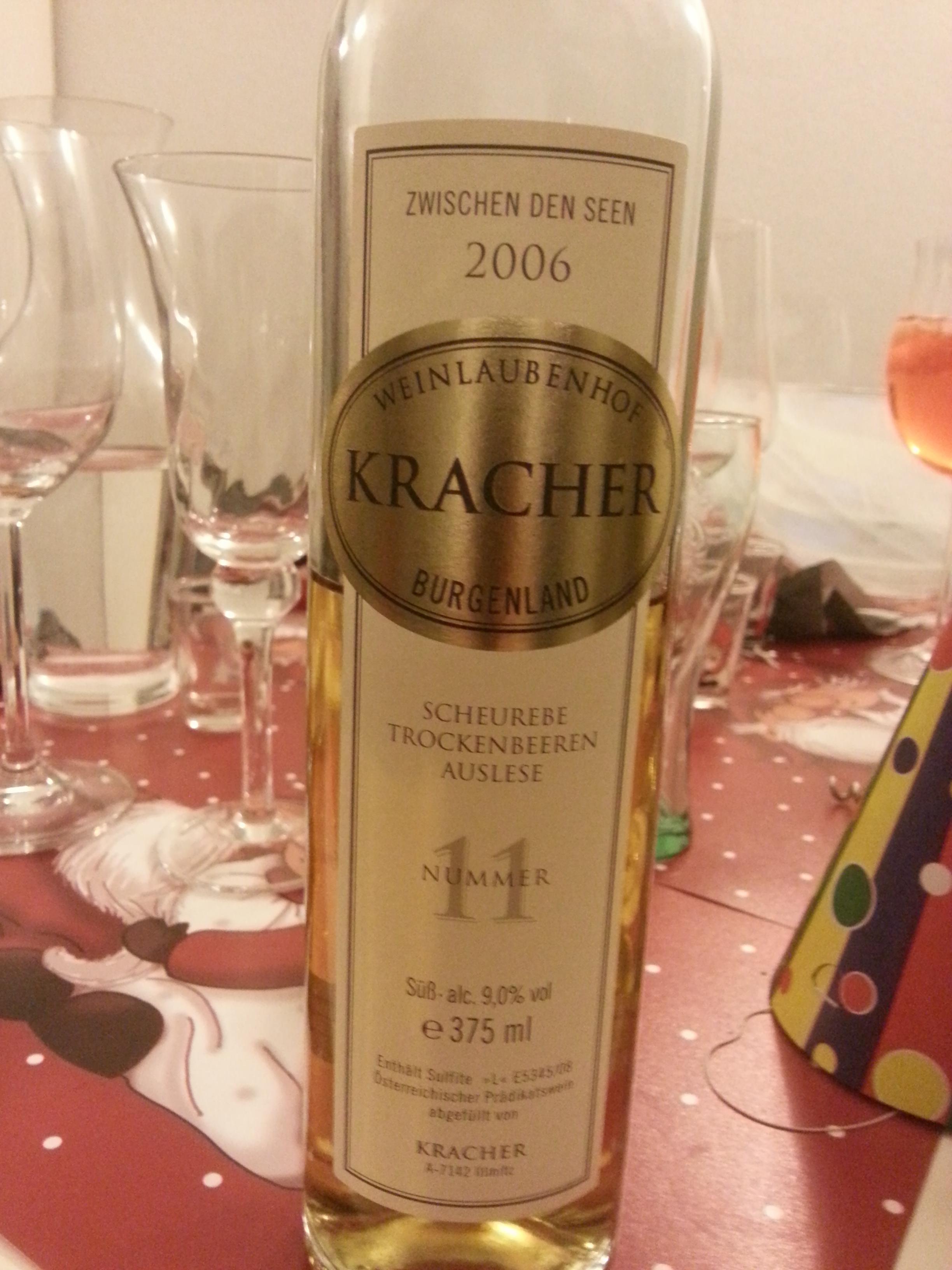 2006 TBA No. 11 Scheurebe | Kracher