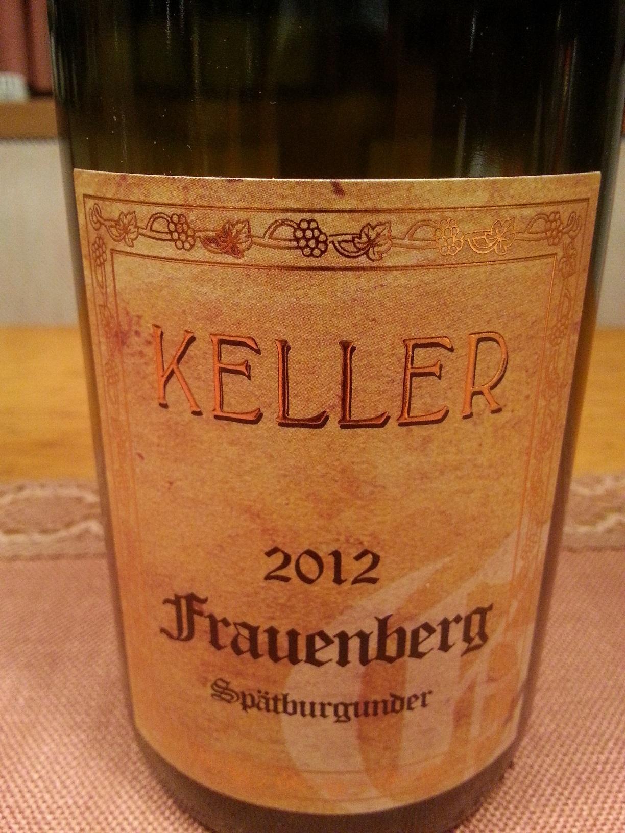 2012 Spätburgunder Frauenberg   Keller