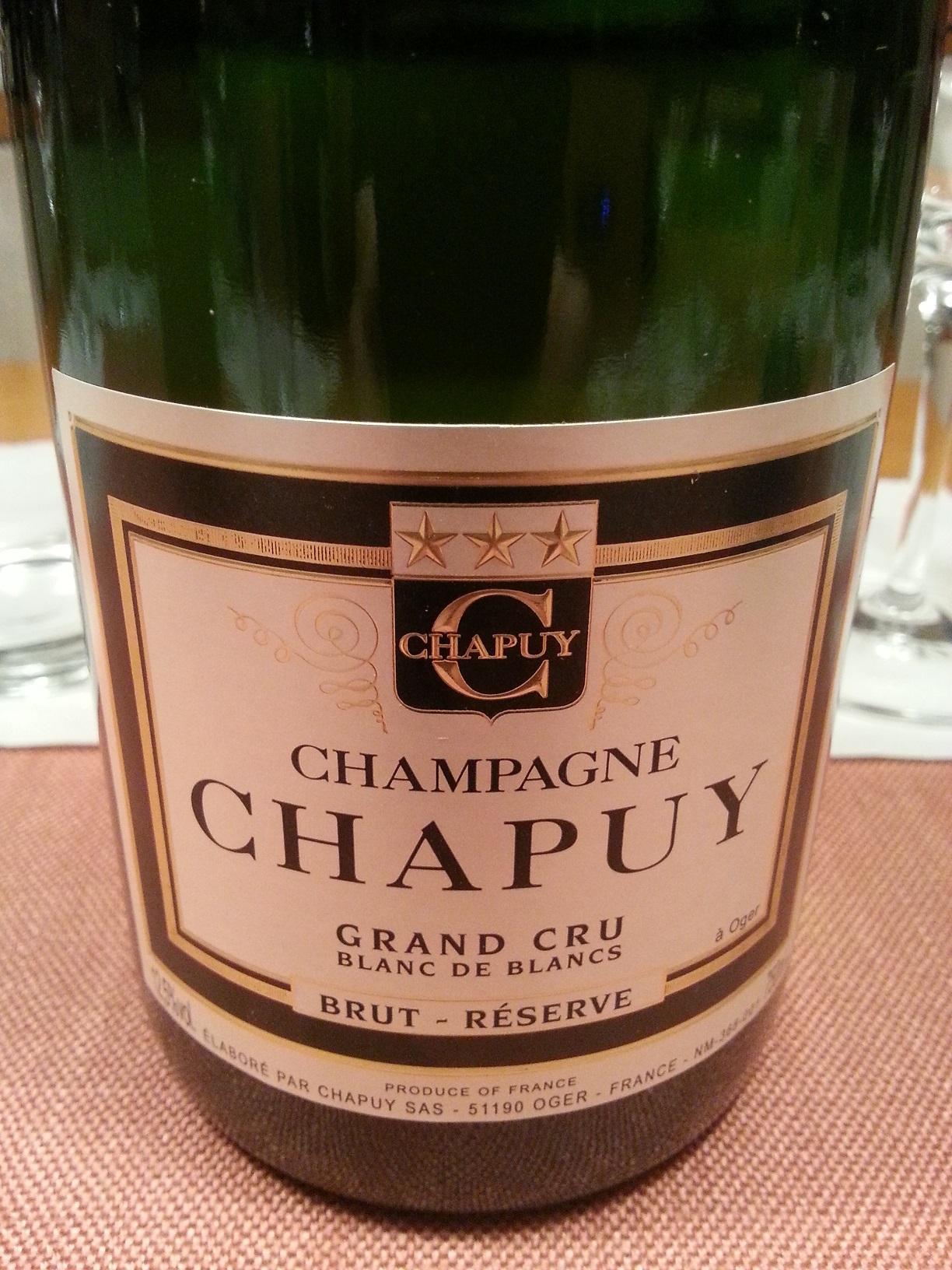 -nv- Champagne Carte Verte Blanc de Blancs Grand Cru brut | Chapuy
