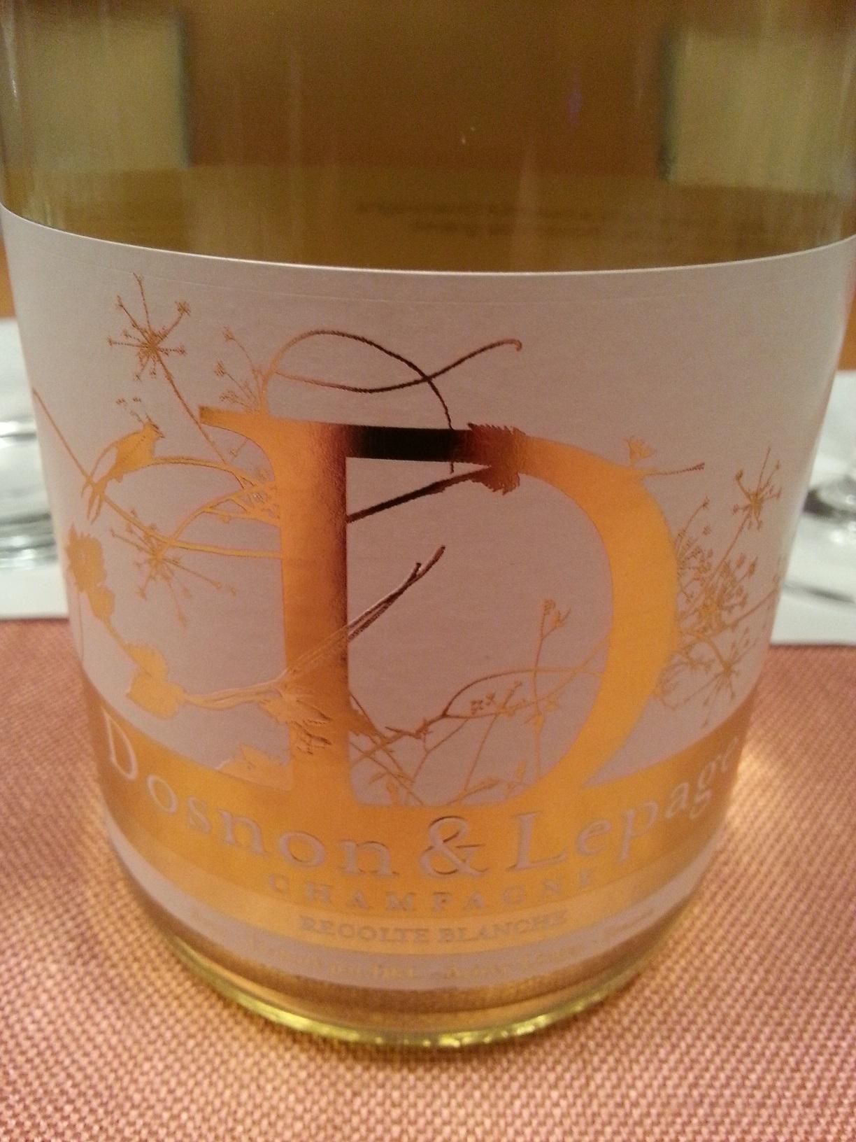 -nv- Champagne Dosnon Recolte Blanche brut | Dosnon & Lepage