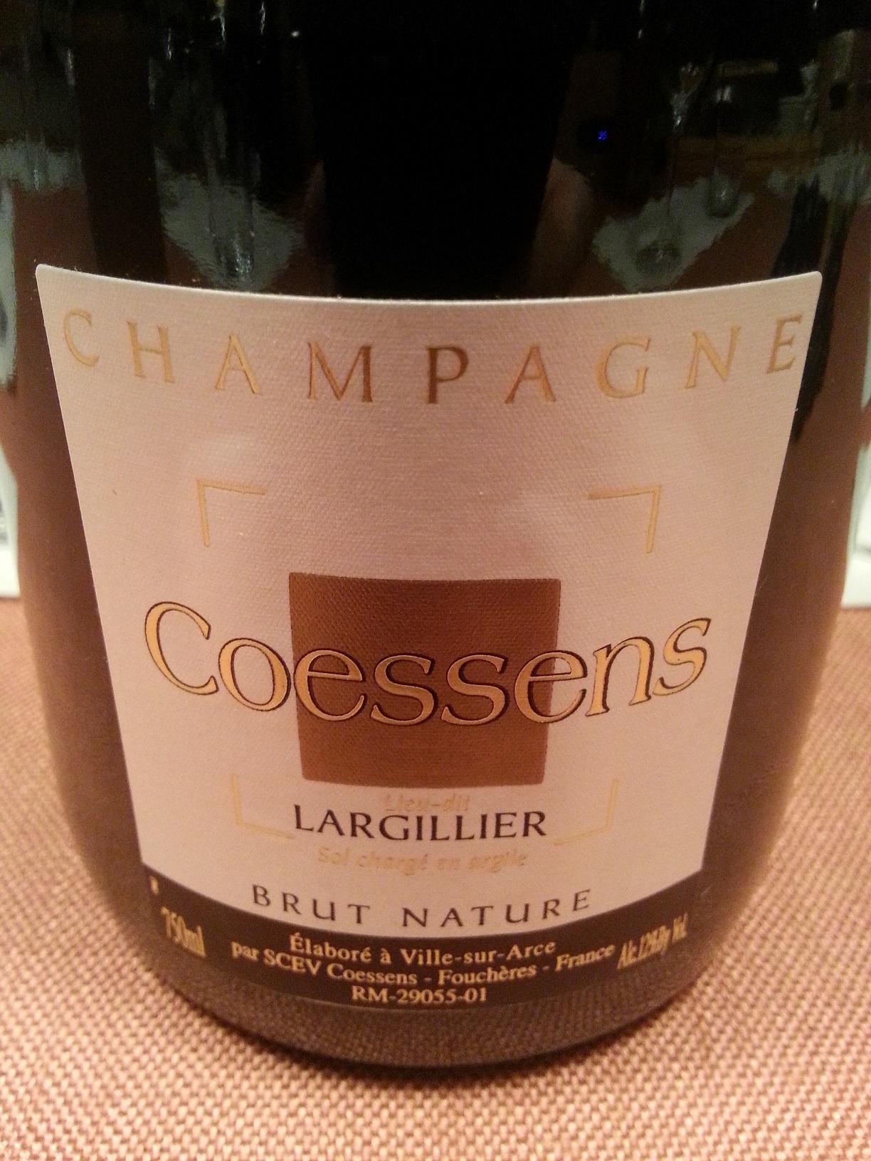 -nv- Champagne Largillier brut nature | Coessens