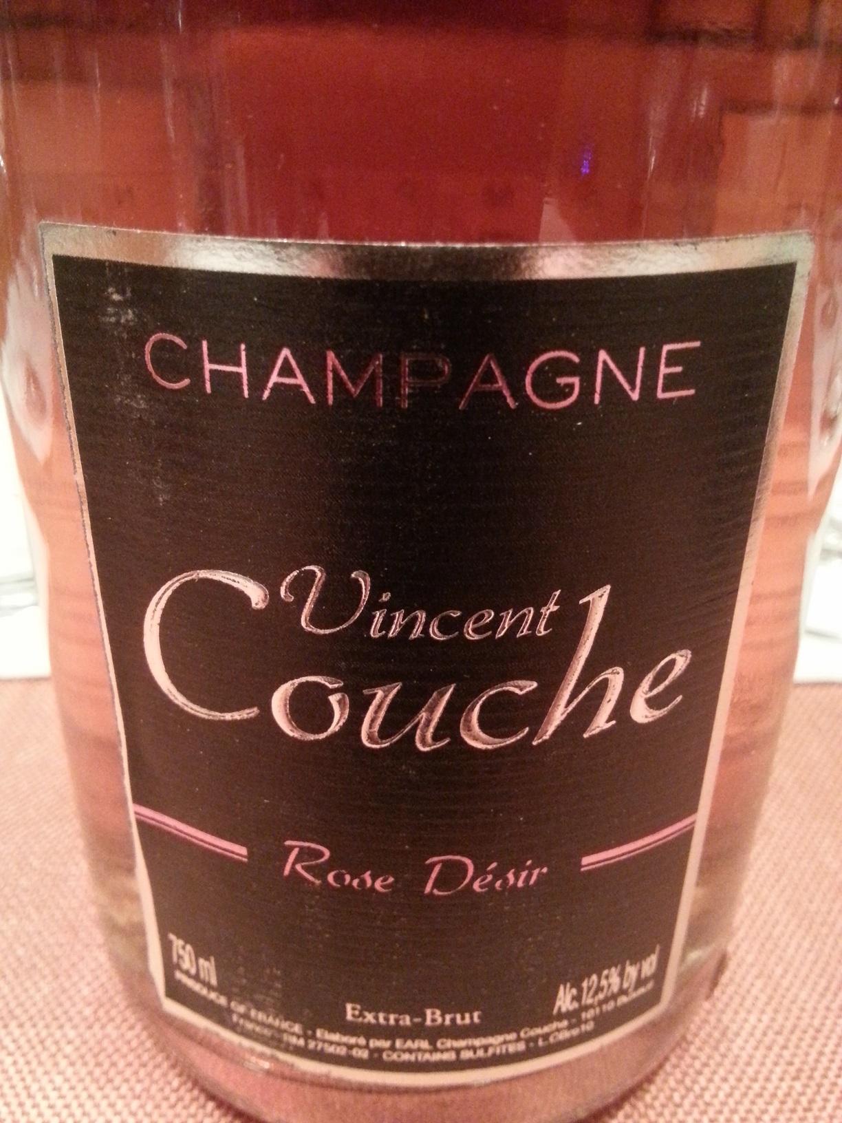 -nv- Champagne Rosé Désir extra brut | Couche
