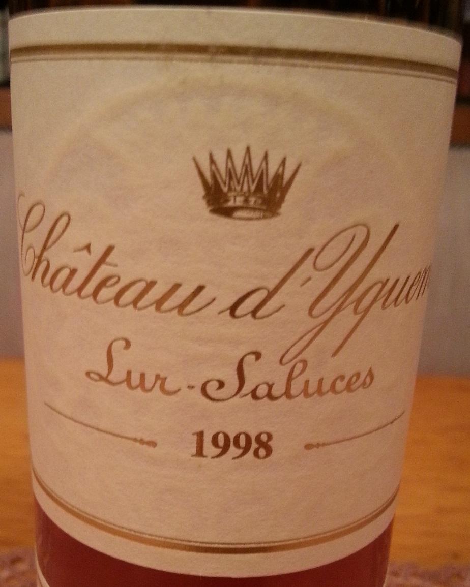 1998 Château d'Yquem | Château d'Yquem