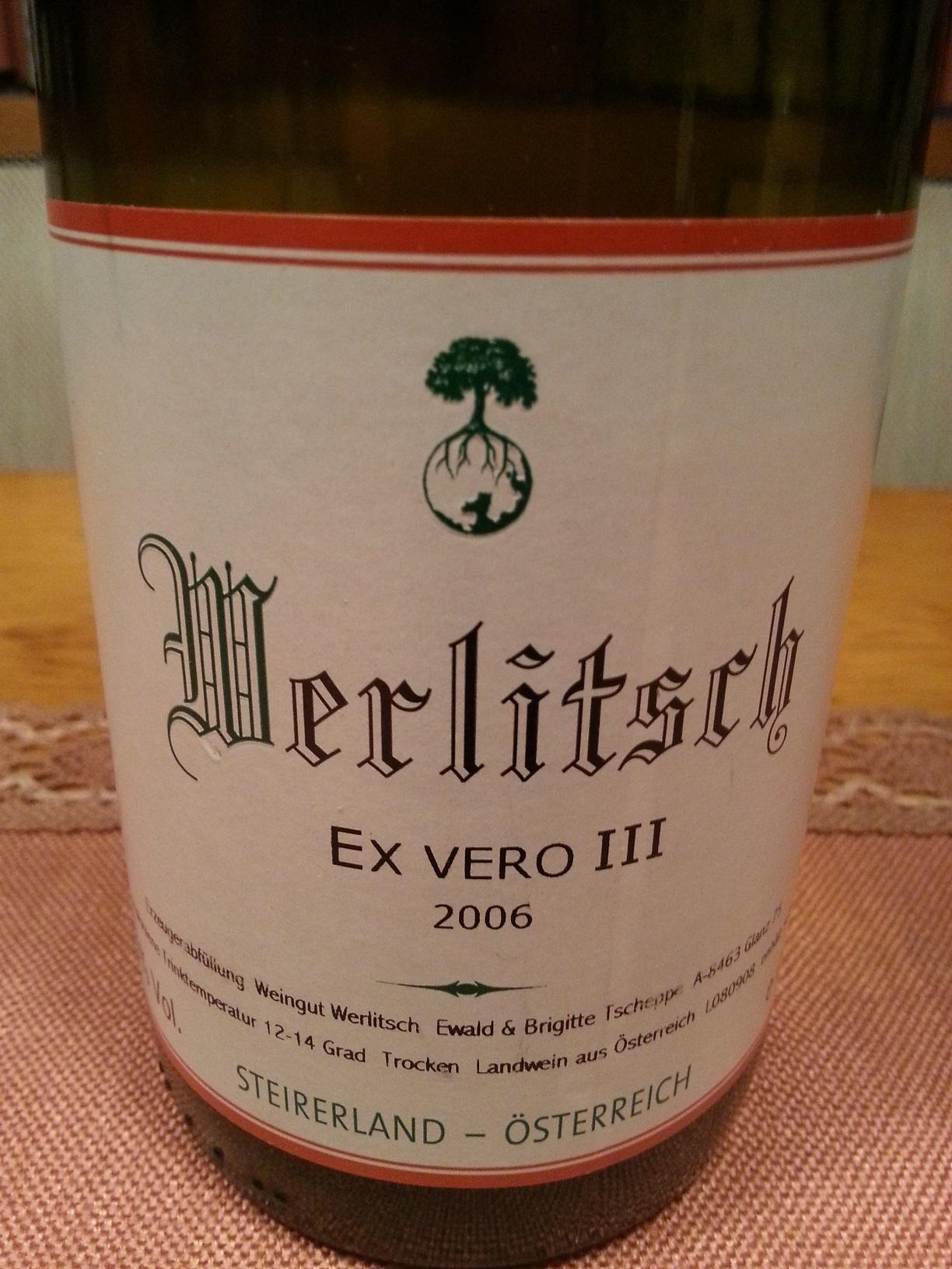 2006 Ex Vero III | Werlitsch
