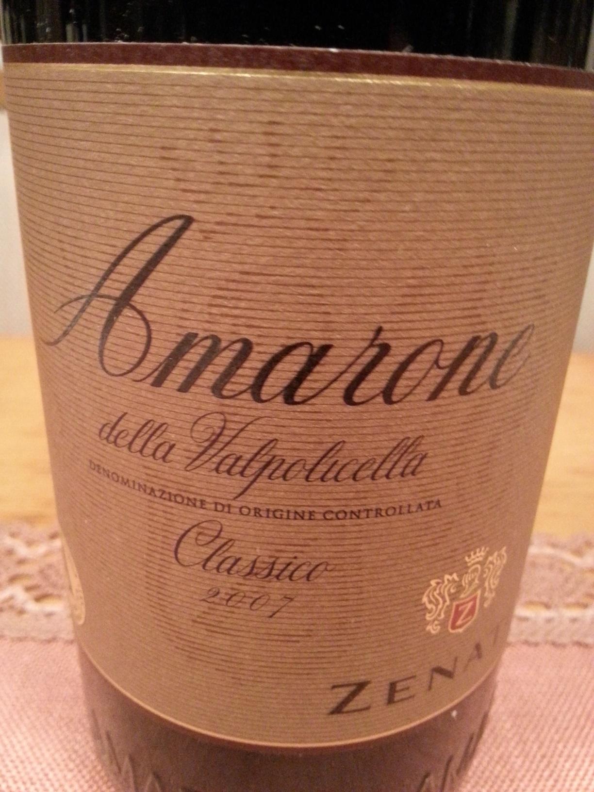 2007 Amarone Classico | Zenato