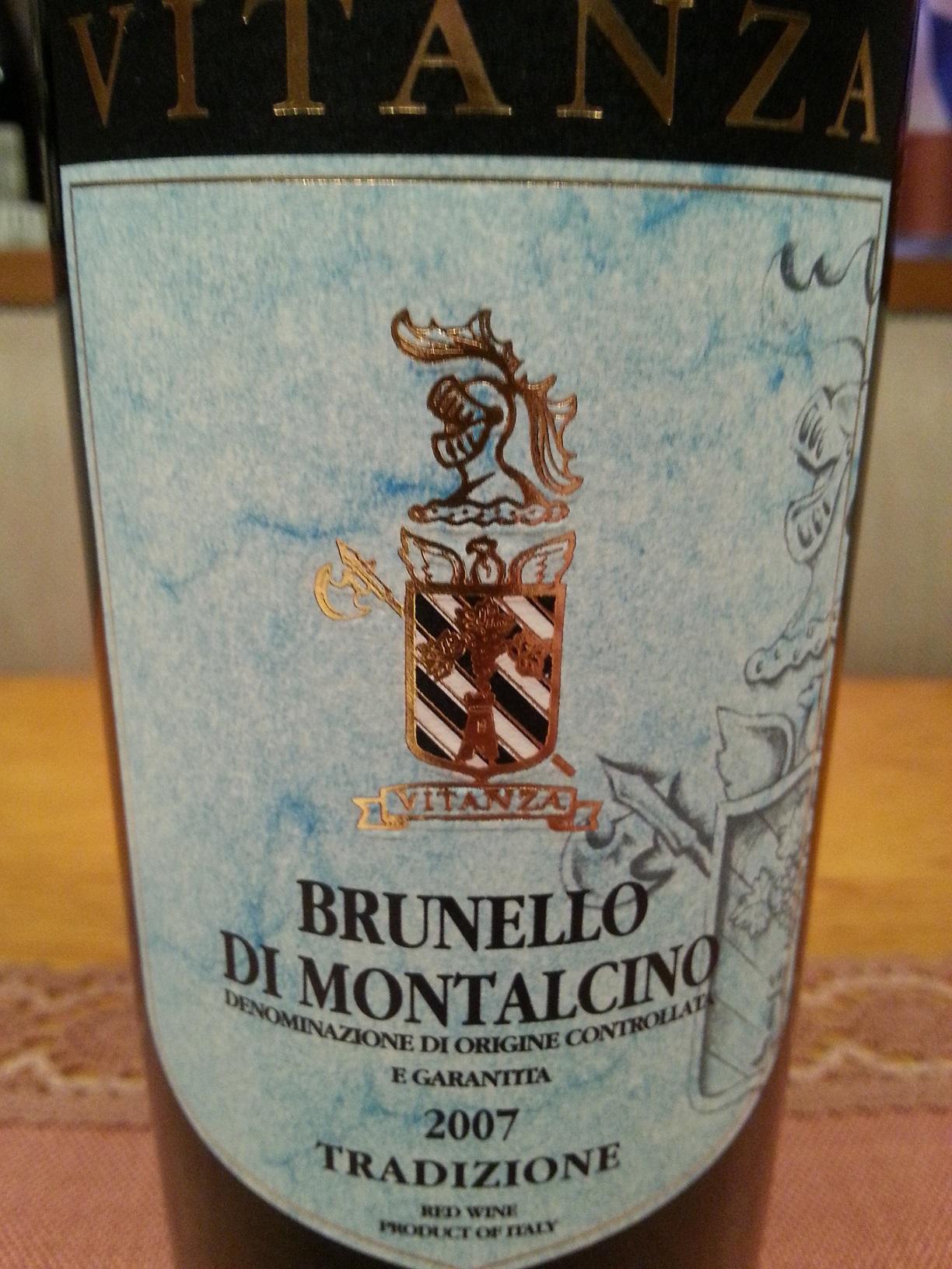 2007 Brunello di Montalcino | Vitanza