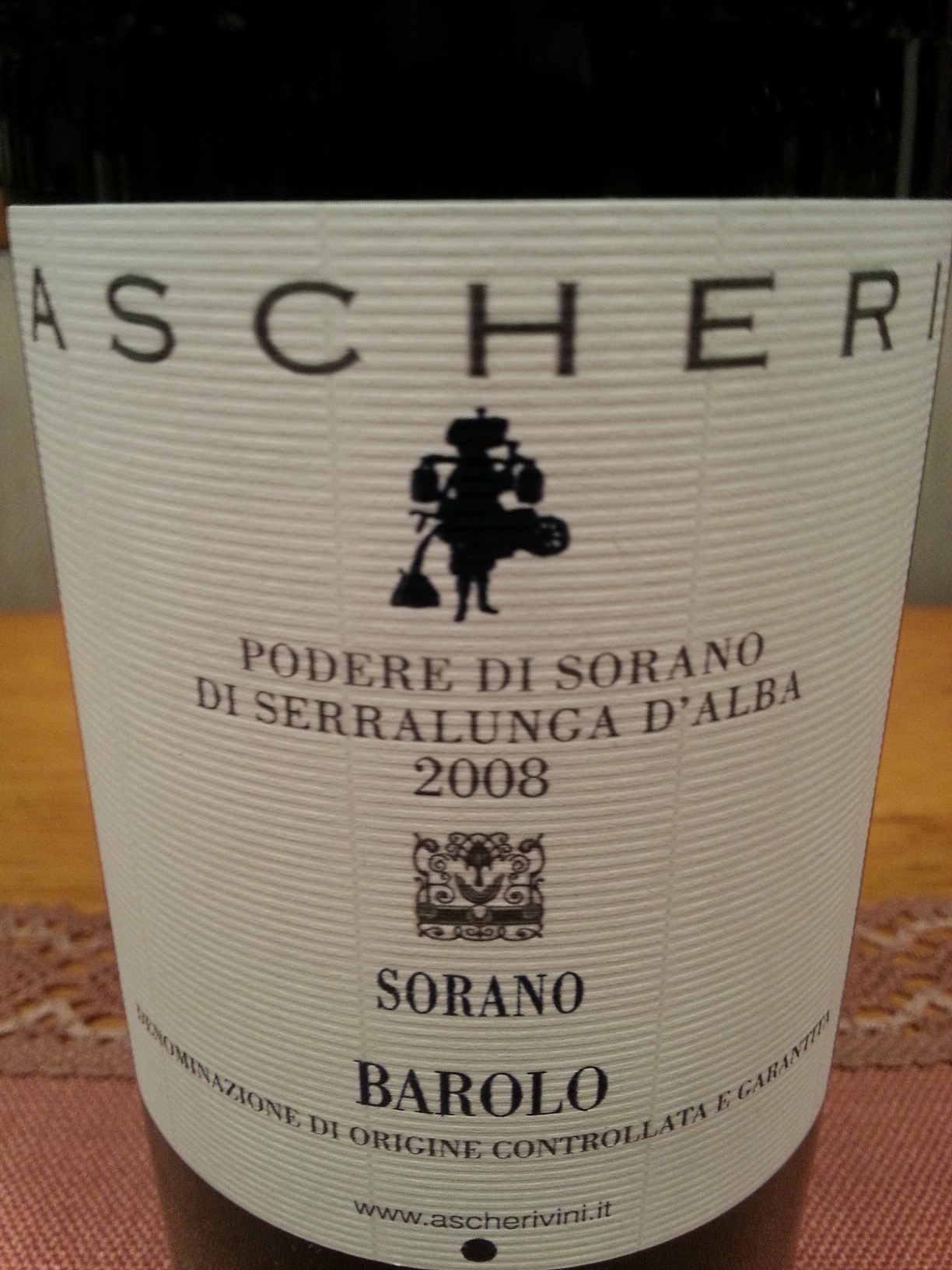 2008 Barolo Sorano | Ascheri