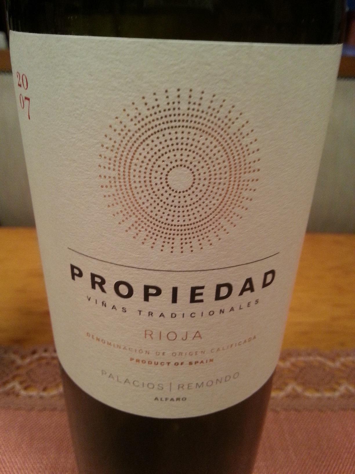 2007 Propiedad | Palacios