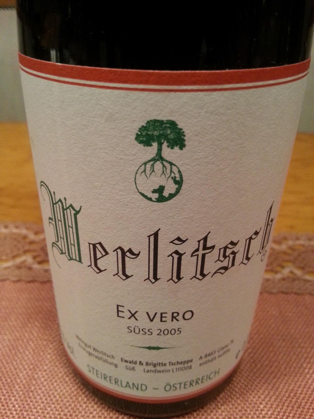 2005 Ex Vero süß | Werlitsch