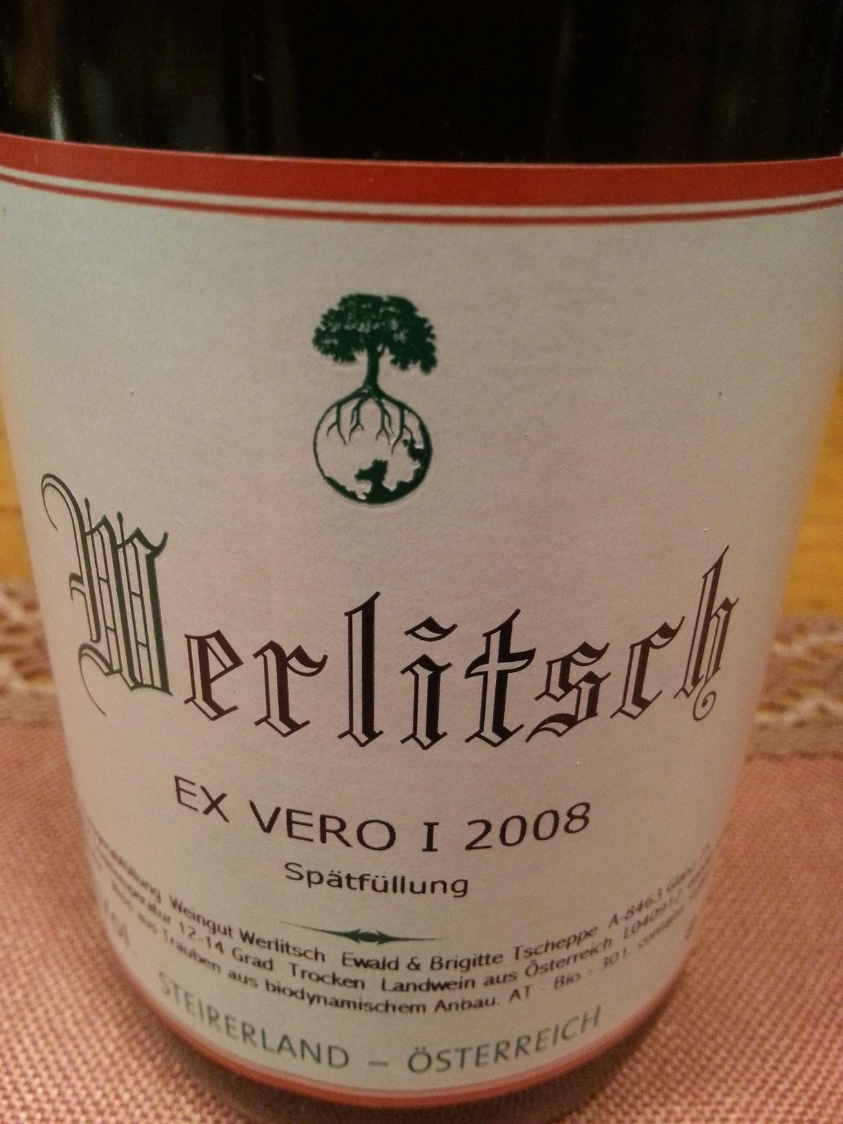 2008 Ex Vero I Spätfüllung | Werlitsch
