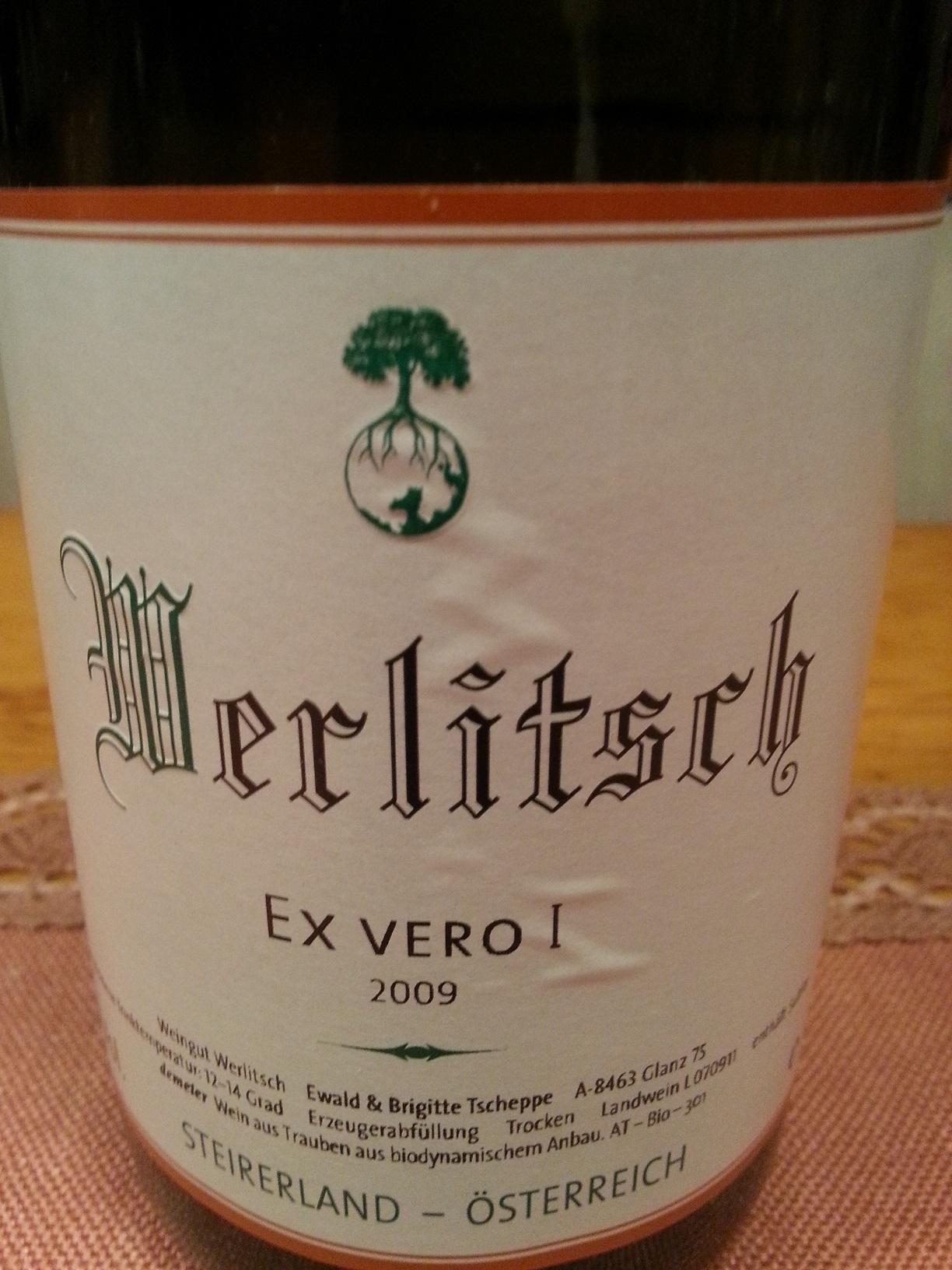 2009 Ex Vero I | Werlitsch