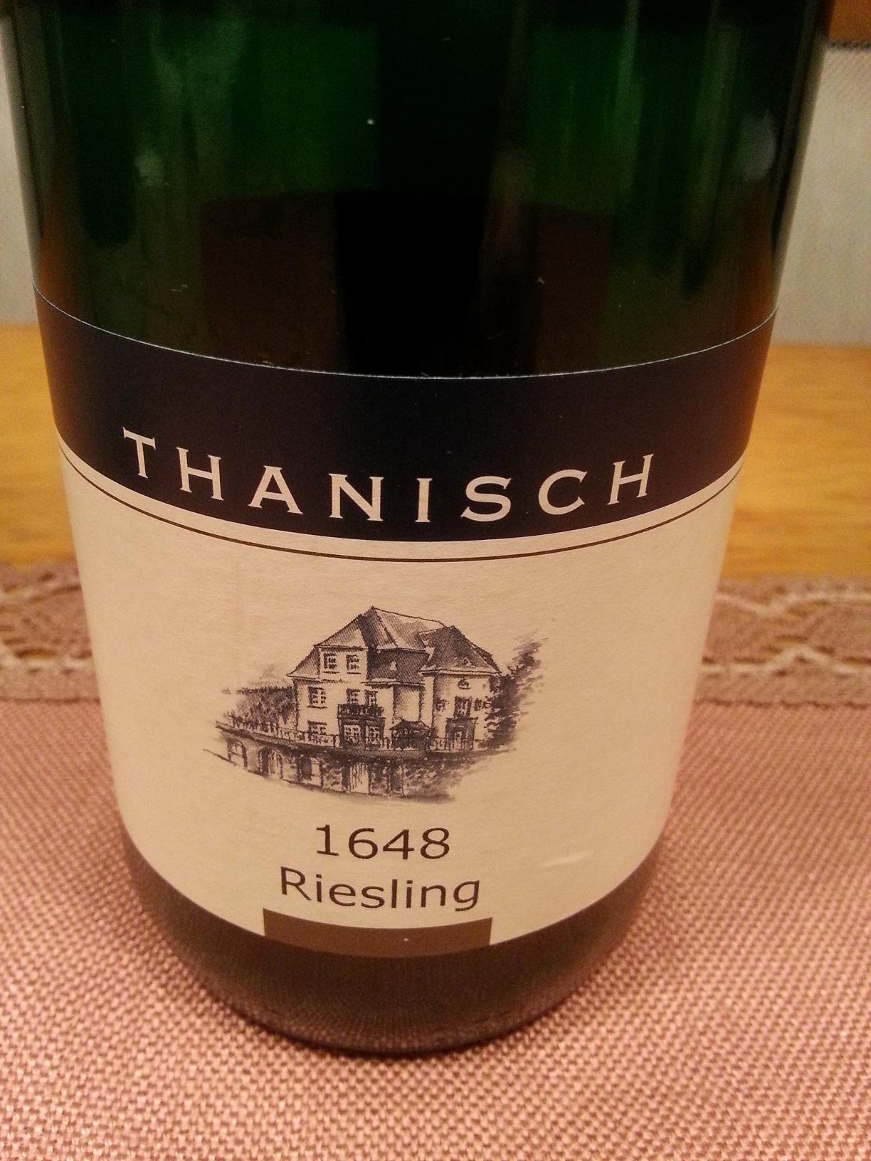 2012 Riesling 1648 | Thanisch