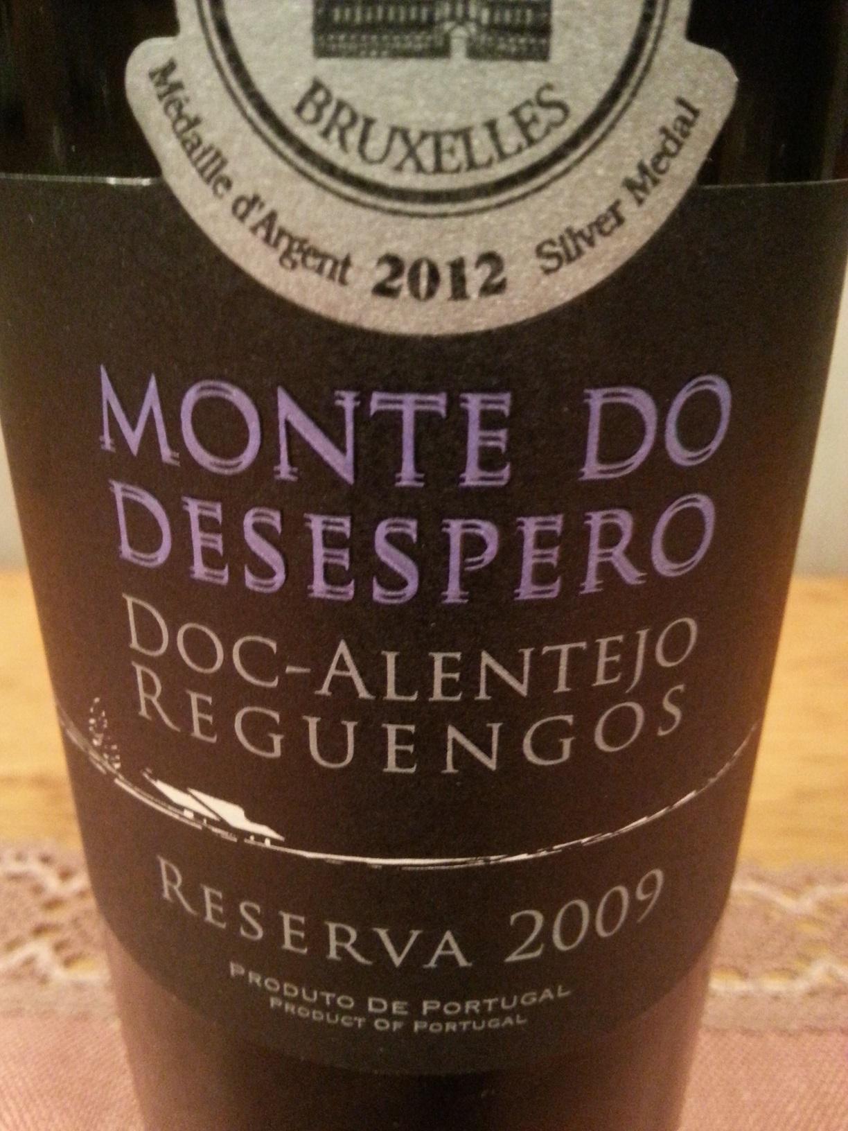 2009 Monte do Desespero | Monte das Serras