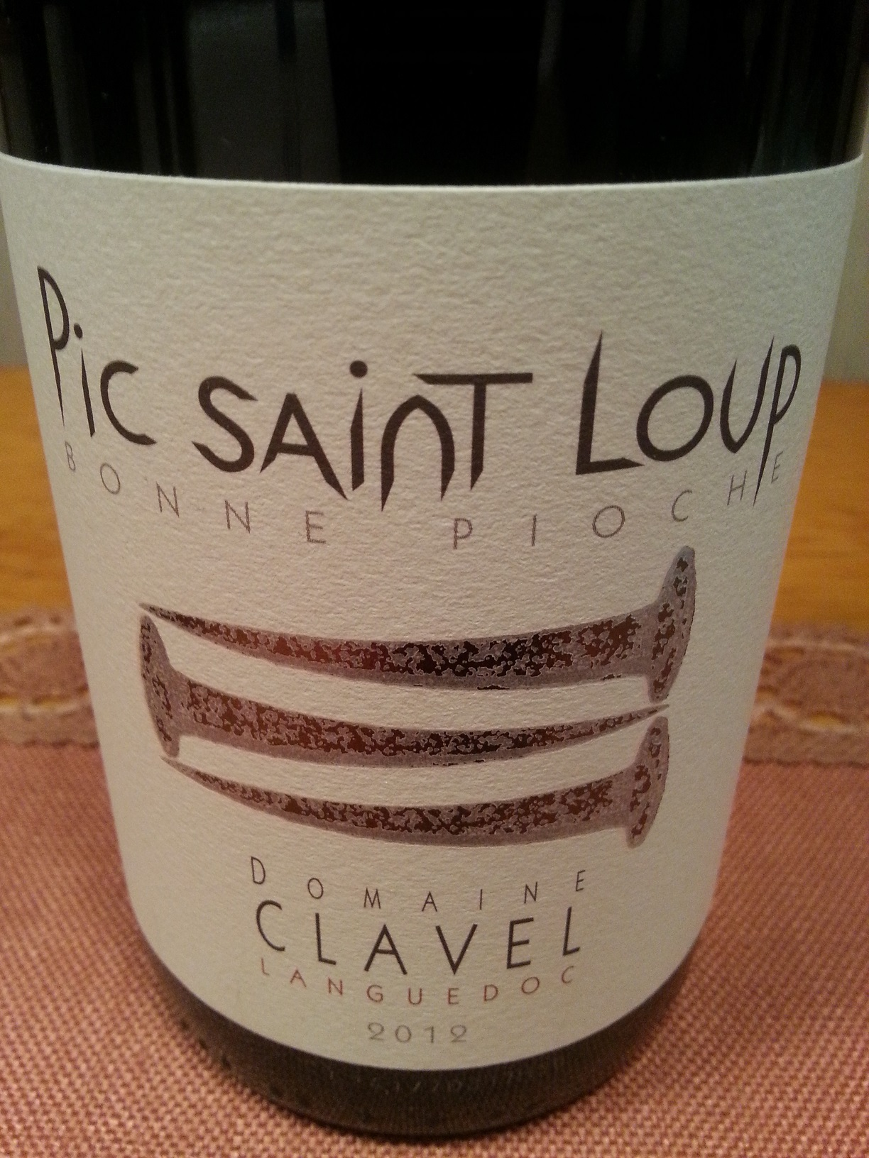 2012 Bonne Pioche Pic Saint Loup | Clavel