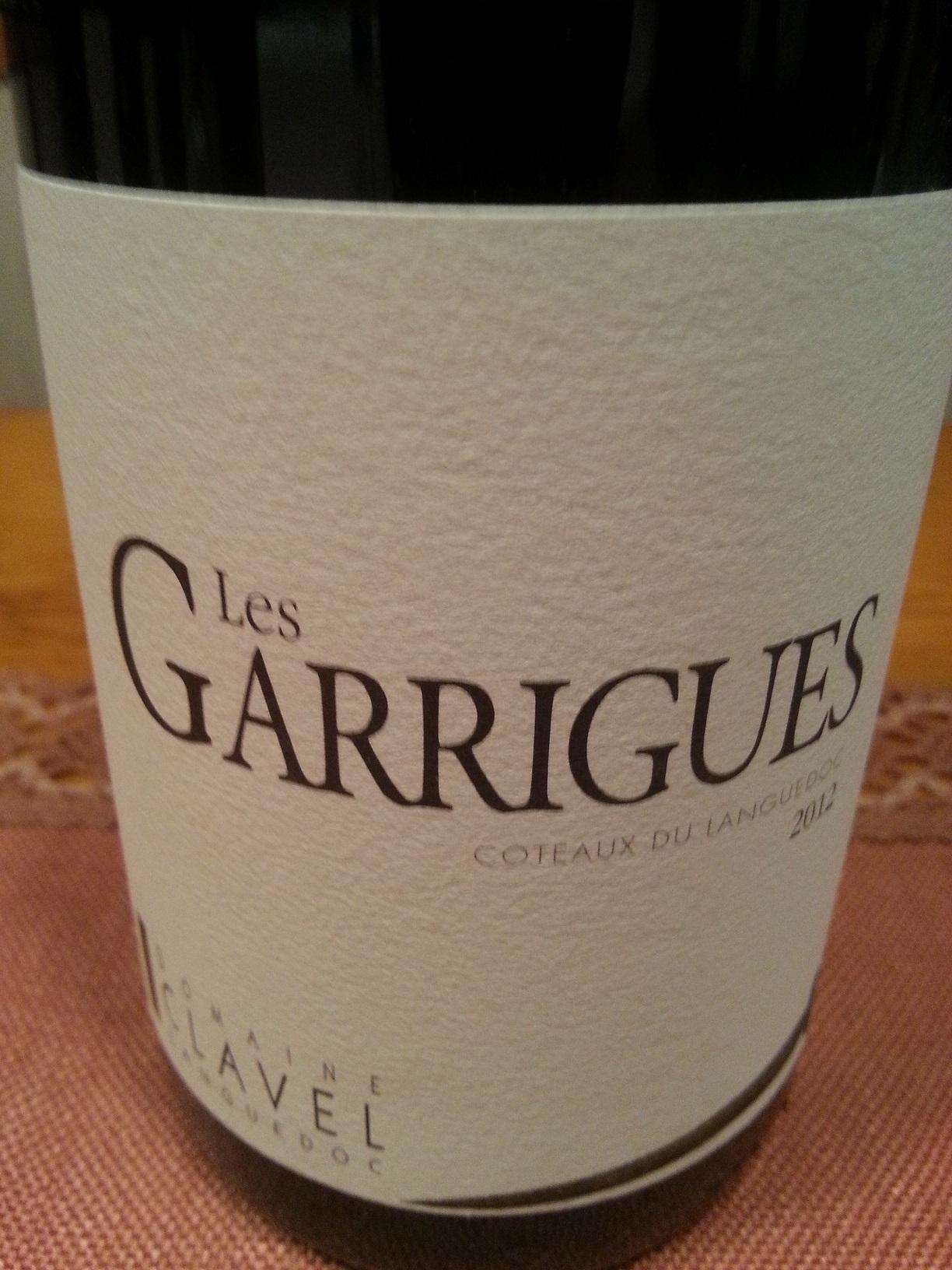2012 Les Garrigues | Clavel