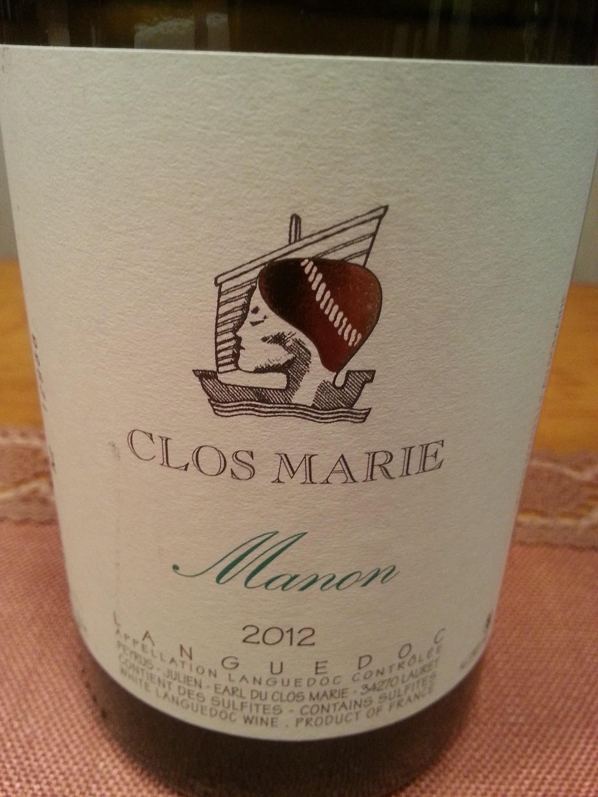 2012 Manon Côteaux de Languedoc | Clos Marie