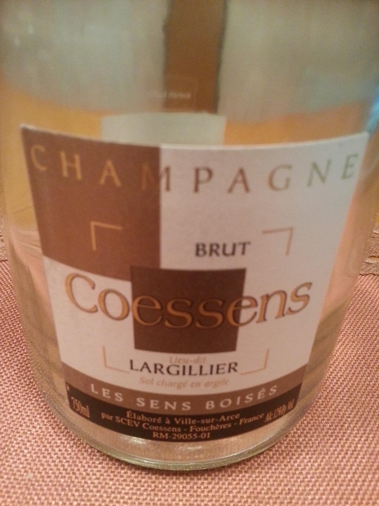 -nv- Champagne Les Sens Boisés | Coessens