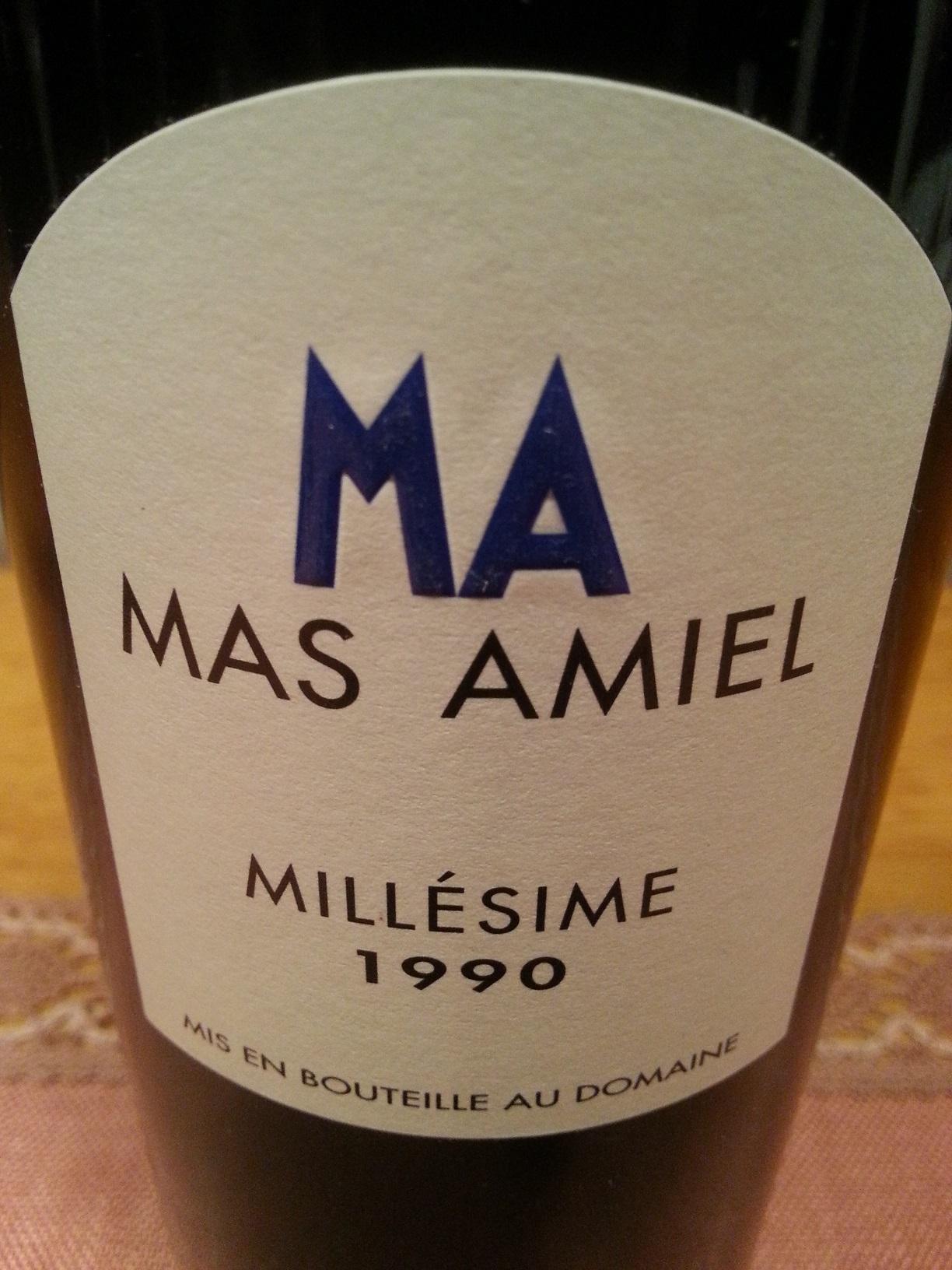 1990 Millésime Maury | Mas Amiel