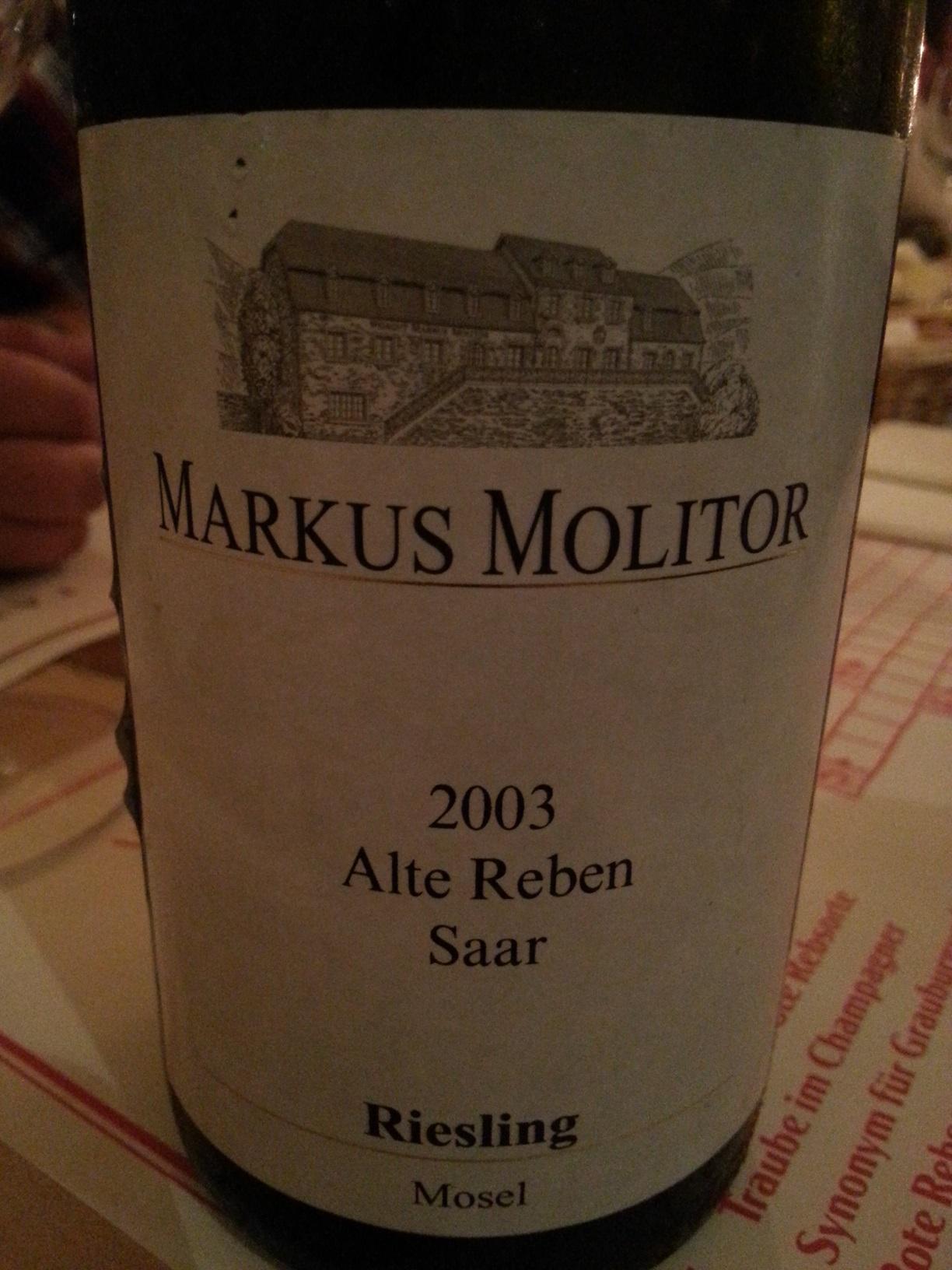 2003 Riesling Alte Reben Saar | Molitor
