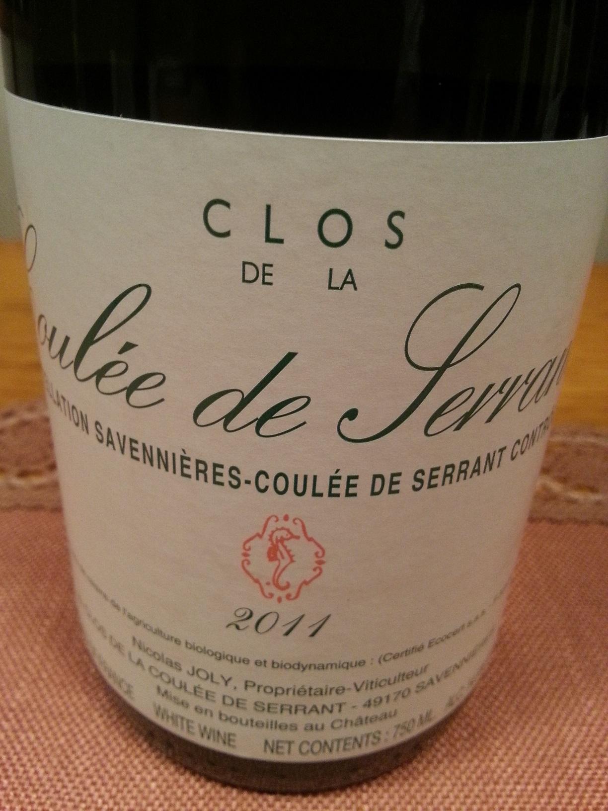 2011 Coulée de Serrant | Joly