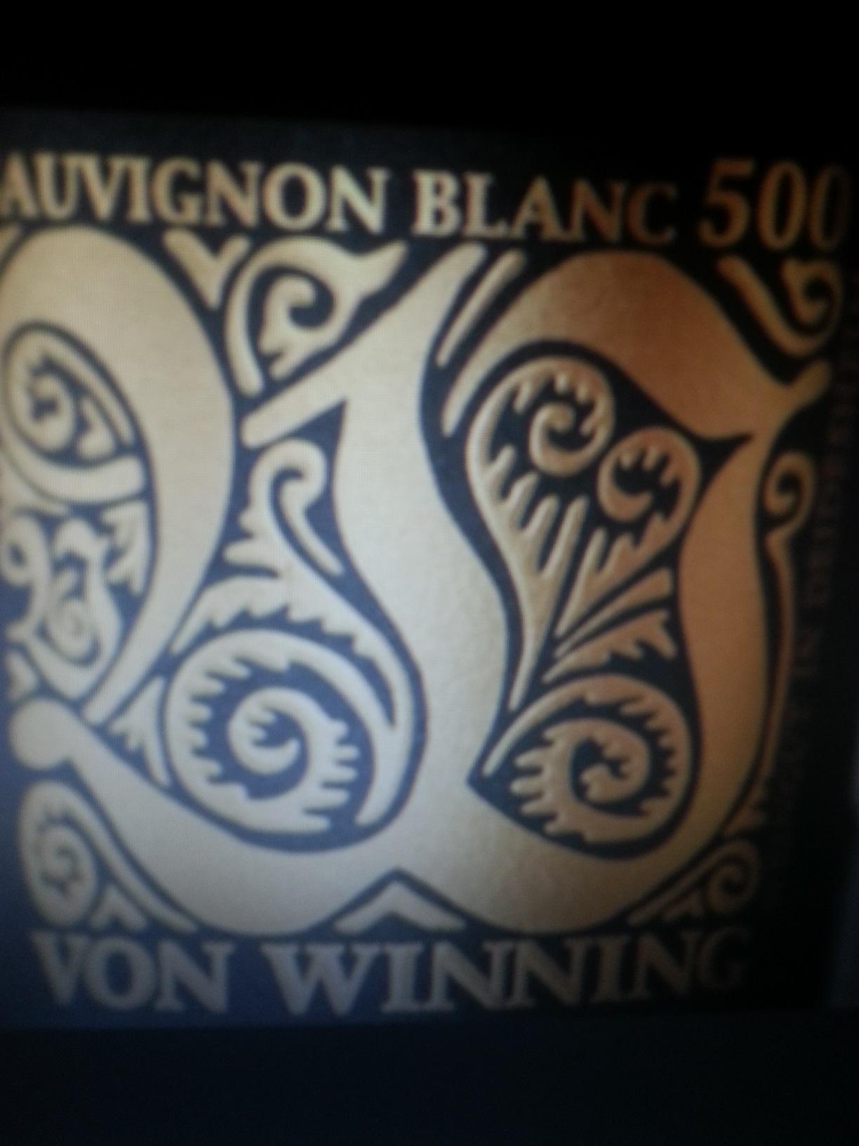 2011 Sauvignon Blanc 500 | von Winning