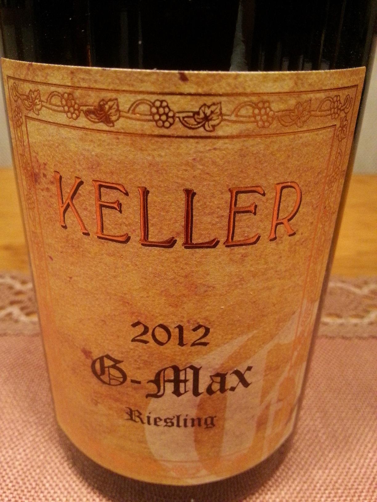 2012 Riesling G-Max | Keller