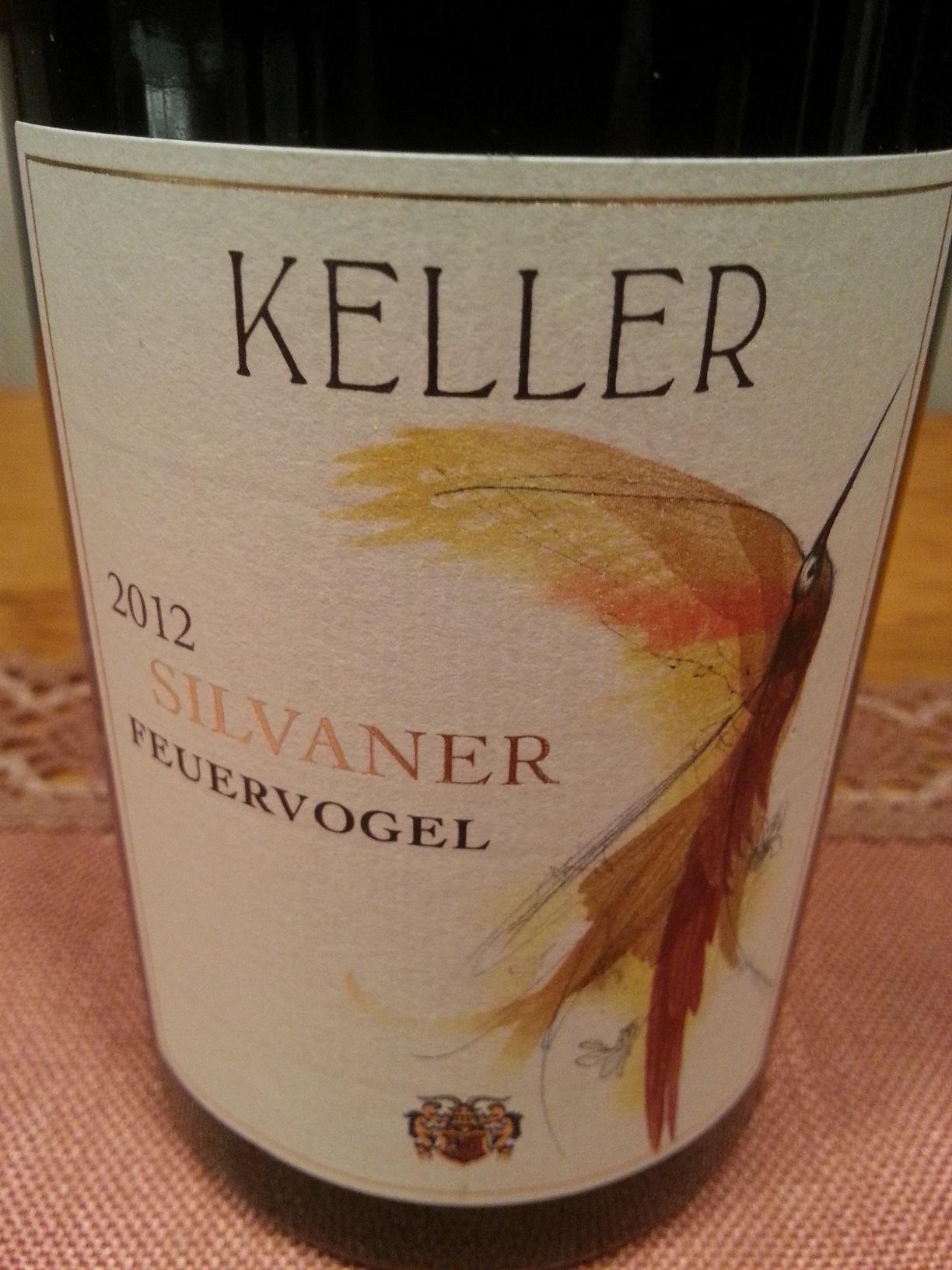 2012 Silvaner Feuervogel | Keller