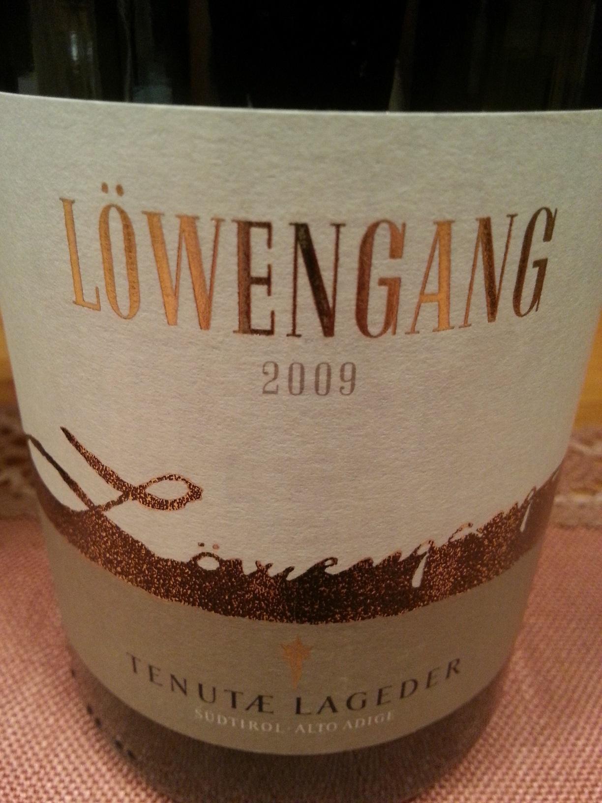 2009 Chardonnay Löwengang | Lageder