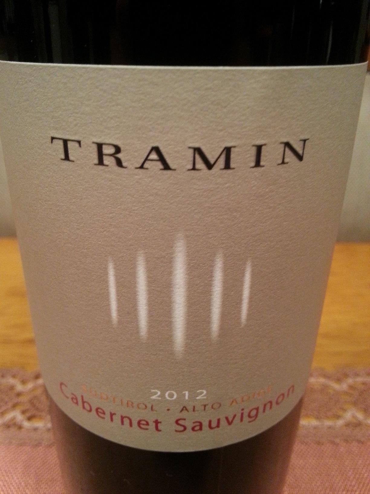 2012 Cabernet Sauvignon | Tramin