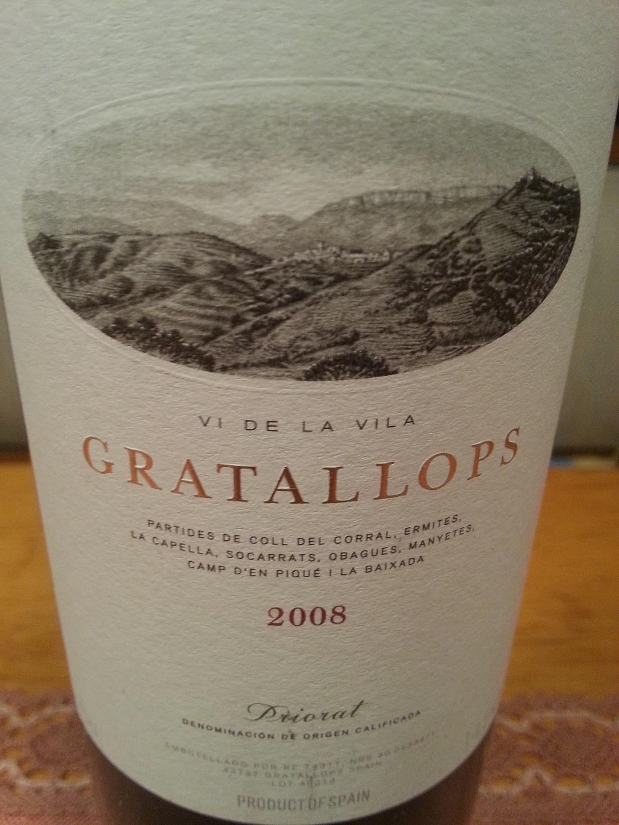2008 Gratallops | Palacios