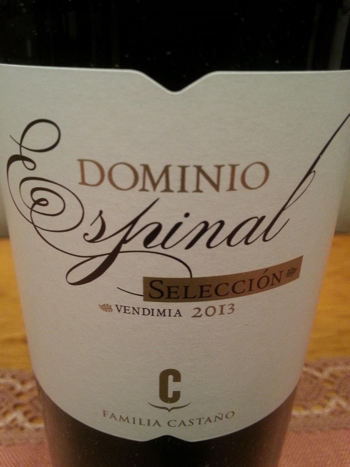 2013 Dominio Espinal Selección | Castaño