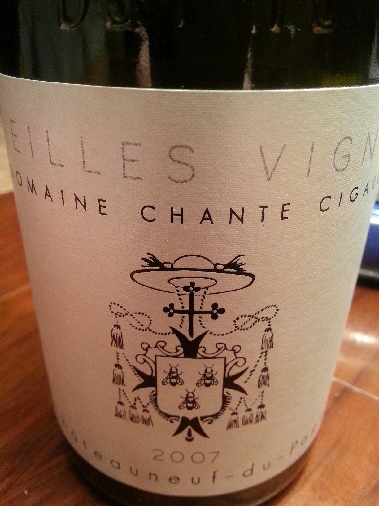 2007 Châteauneuf-du-Pape Vieilles Vignes | Chante Cigale
