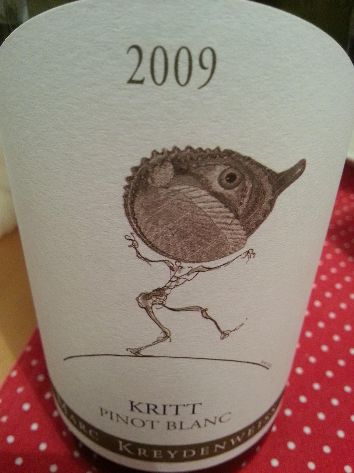 2009 Pinot Blanc Kritt | Kreydenweiss