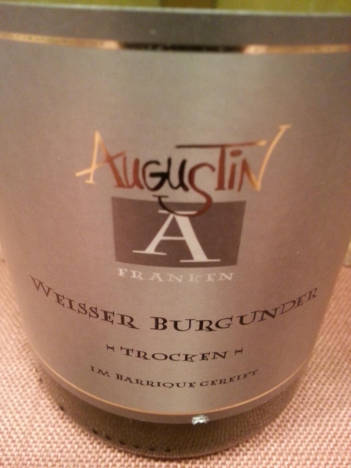2011 Weißer Burgunder | Augustin