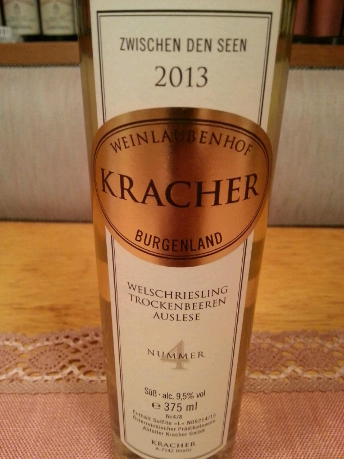 2013 Welschriesling TBA Nr. 4 ZdS | Kracher