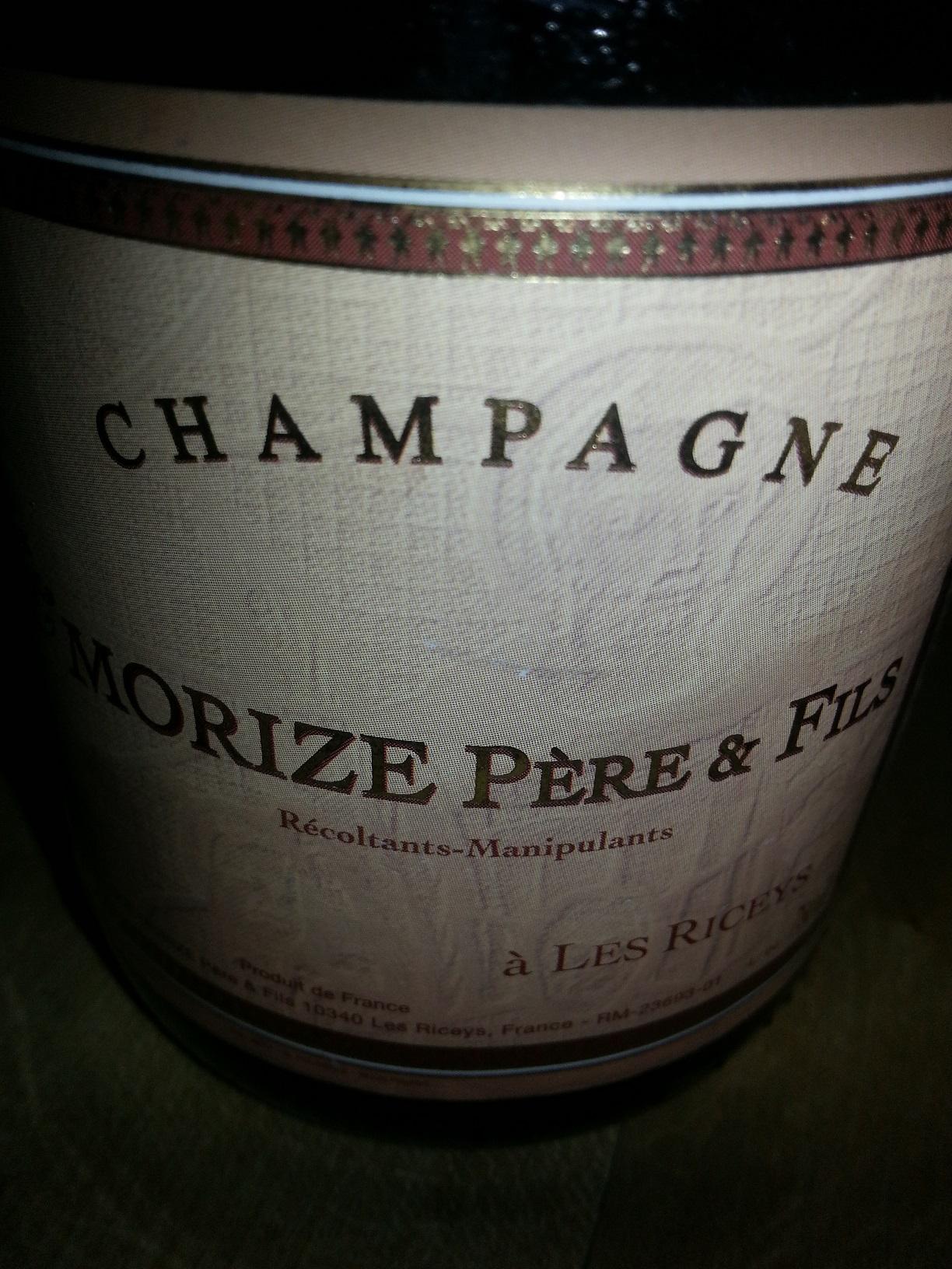 -nv- Champagne Rosé | Morize Père et Fils