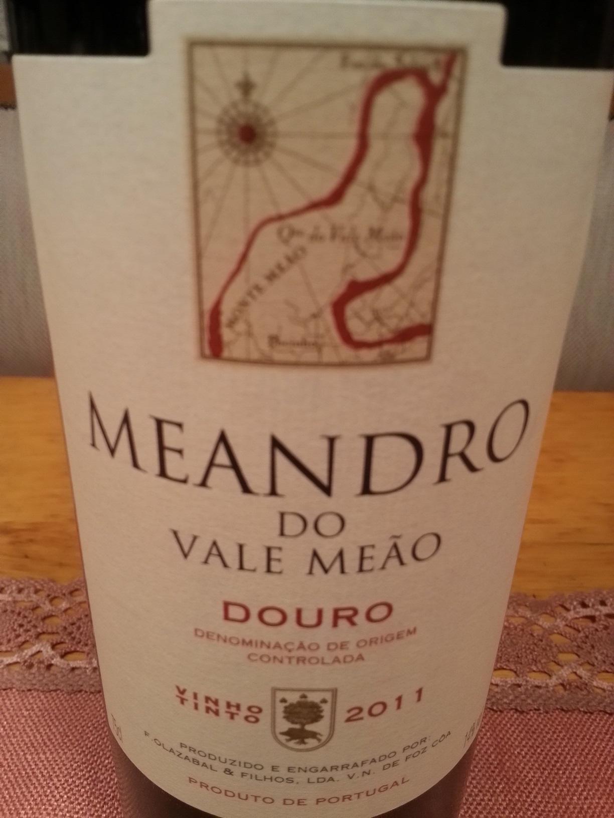 2011 Meandro Douro Red | Quinta do Vale Meão
